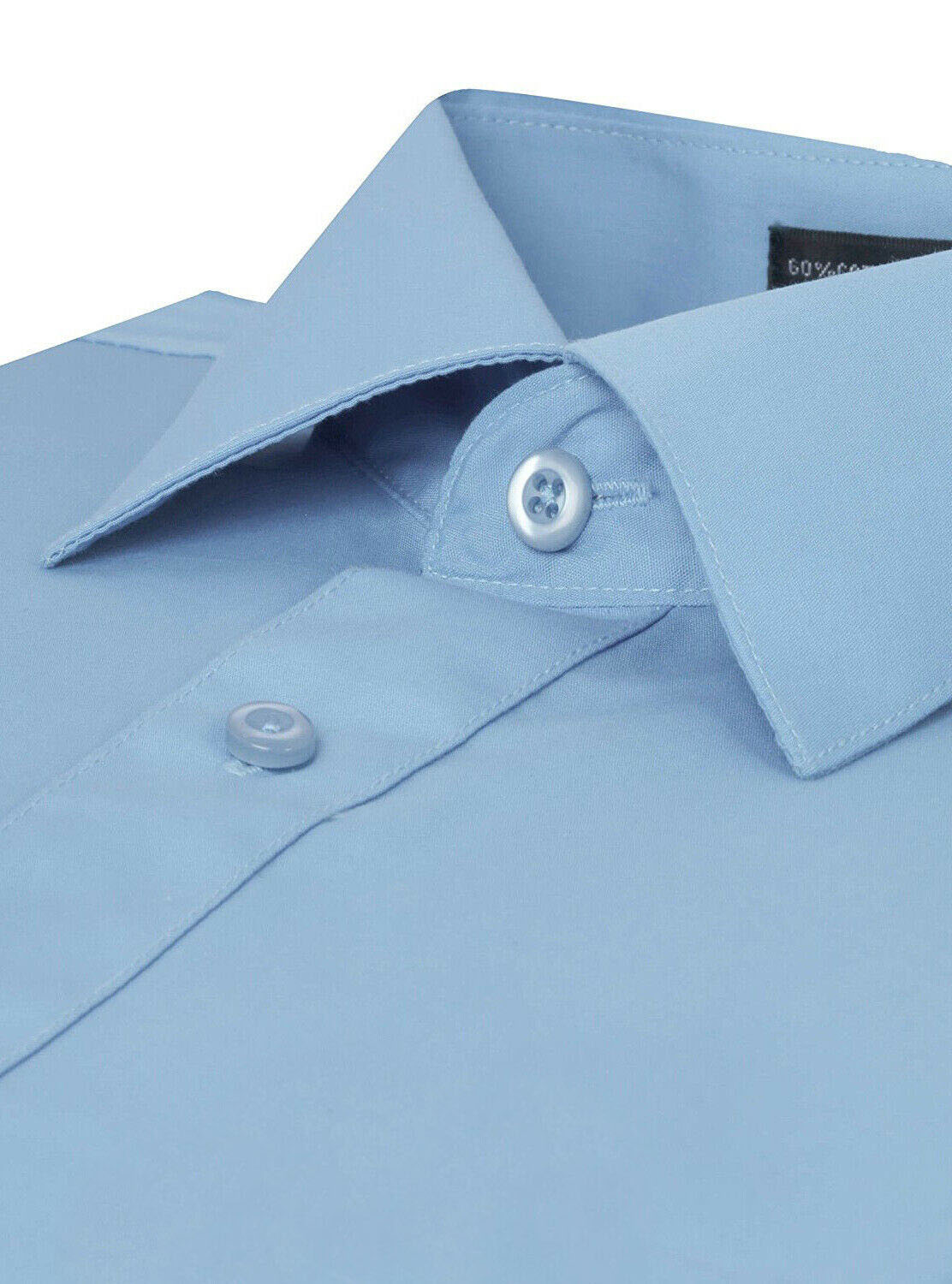 Omega-Italy-Men-039-s-Premium-Slim-Fit-Button-Up-Long-Sleeve-Solid-Color-Dress-Shirt thumbnail 40