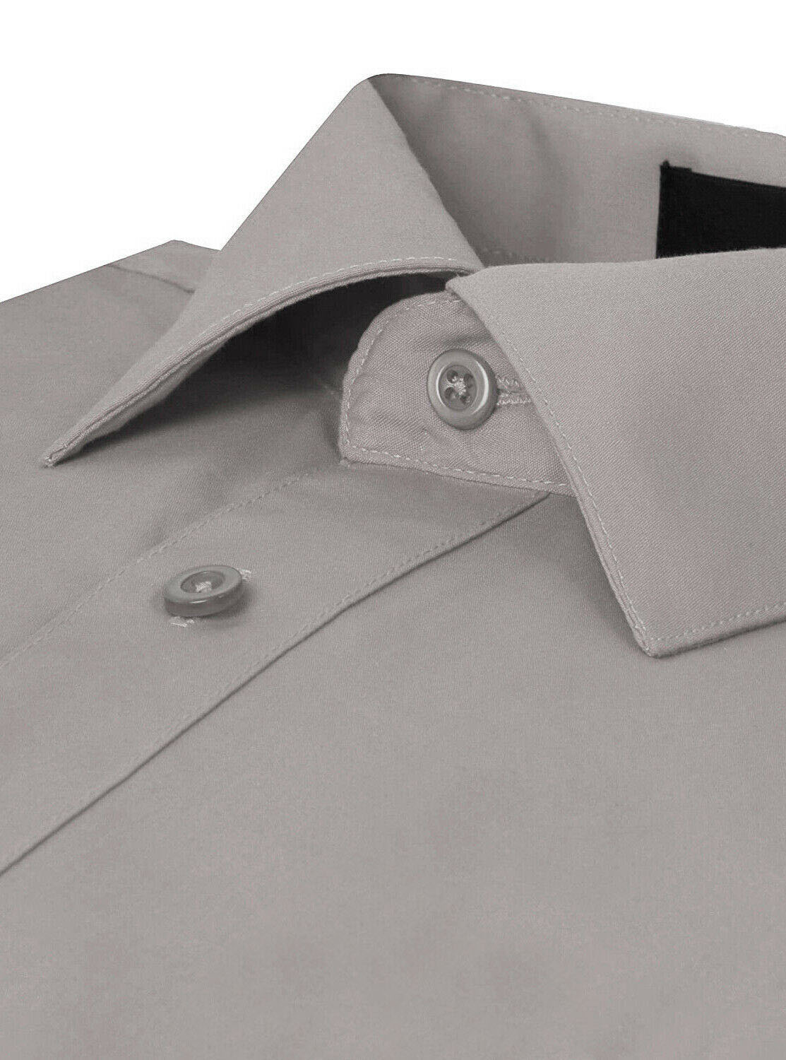 Omega-Italy-Men-039-s-Premium-Slim-Fit-Button-Up-Long-Sleeve-Solid-Color-Dress-Shirt thumbnail 45