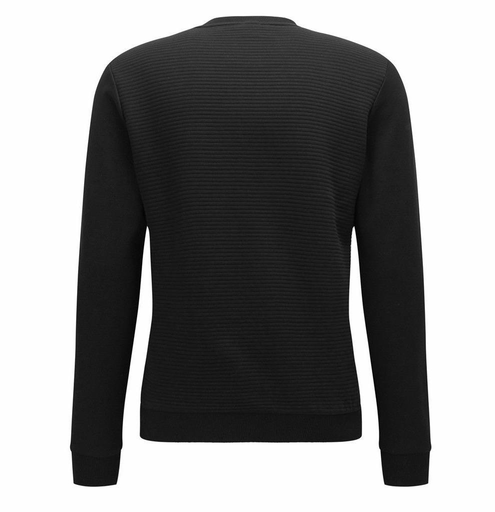 Hugo-Boss-Boss-Green-Men-039-s-Salbo-Slim-Fit-Crew-Neck-Sweater-Sweatshirt-50333928 thumbnail 3