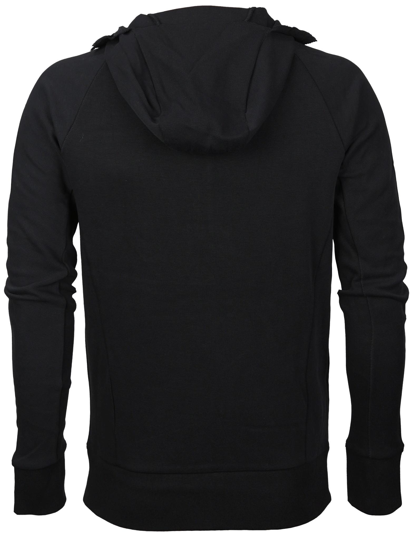 miniature 6 - Men-039-s-Zip-Up-Thumbhole-Ninja-Turtleneck-Skinny-Fit-Face-Protection-Hoodie-Jacket