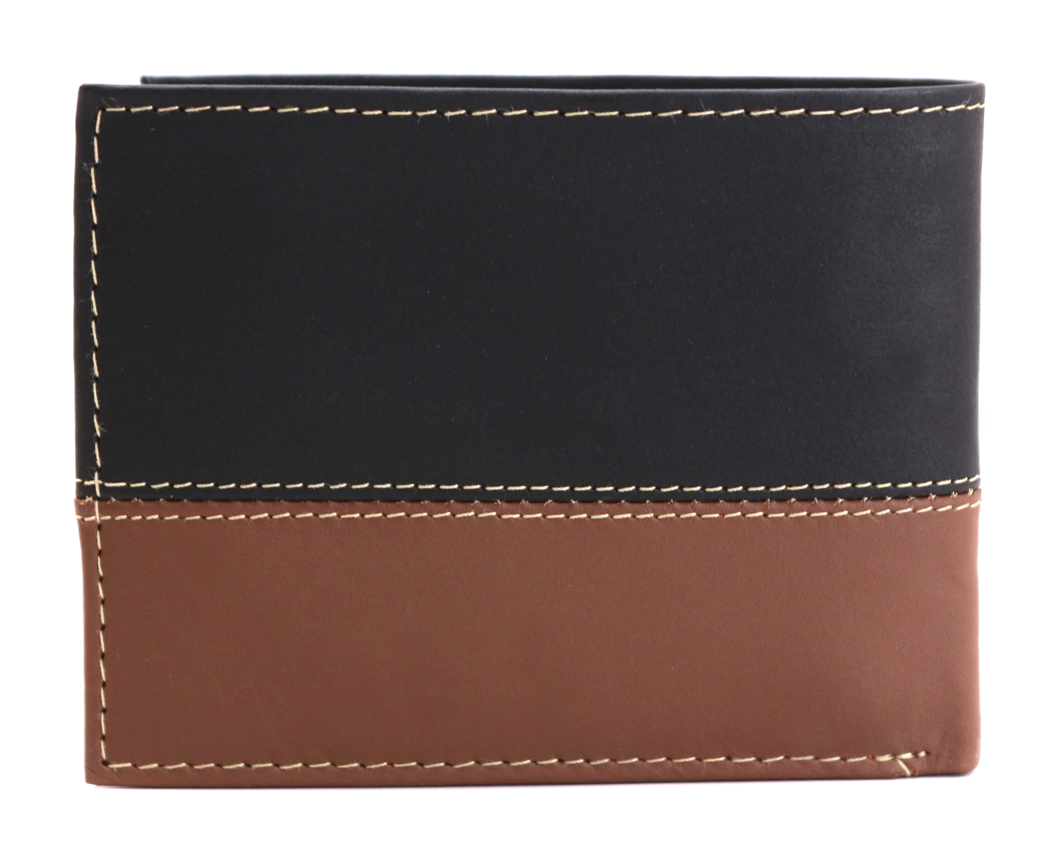 Timberland-Men-039-s-Genuine-Two-Tone-Leather-Credit-Card-Billfold-Commuter-Wallet thumbnail 12