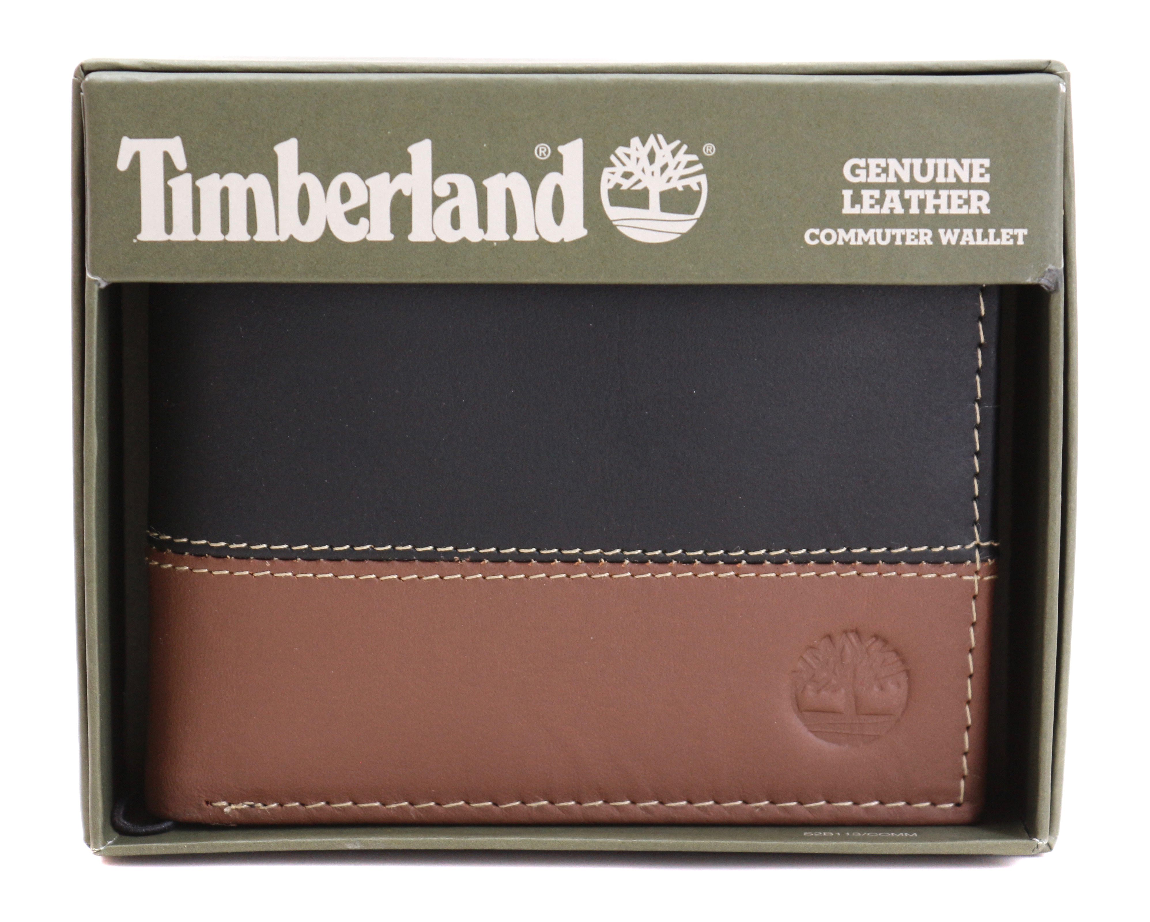 Timberland-Men-039-s-Genuine-Two-Tone-Leather-Credit-Card-Billfold-Commuter-Wallet thumbnail 17