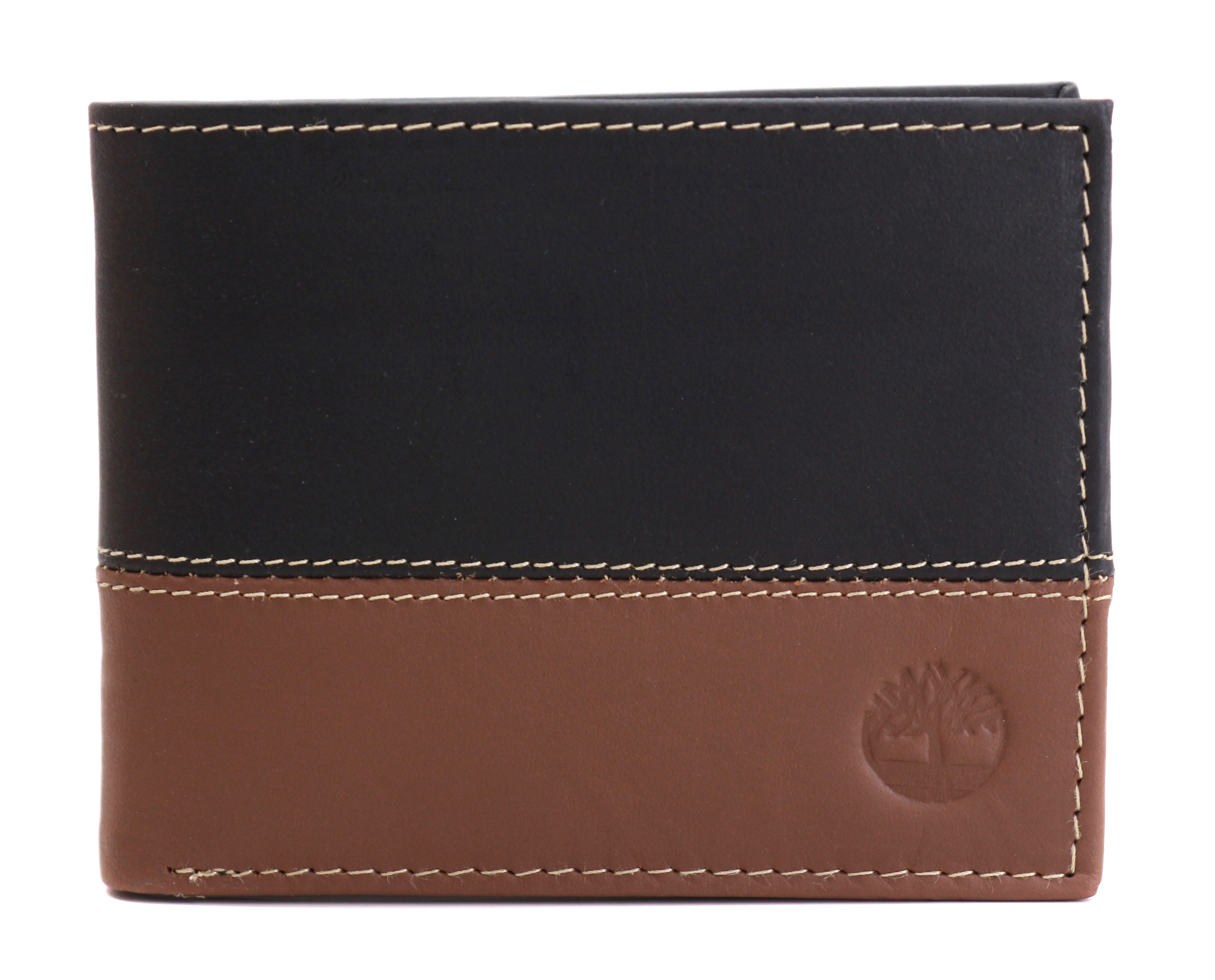 Timberland-Men-039-s-Genuine-Two-Tone-Leather-Credit-Card-Billfold-Commuter-Wallet thumbnail 11