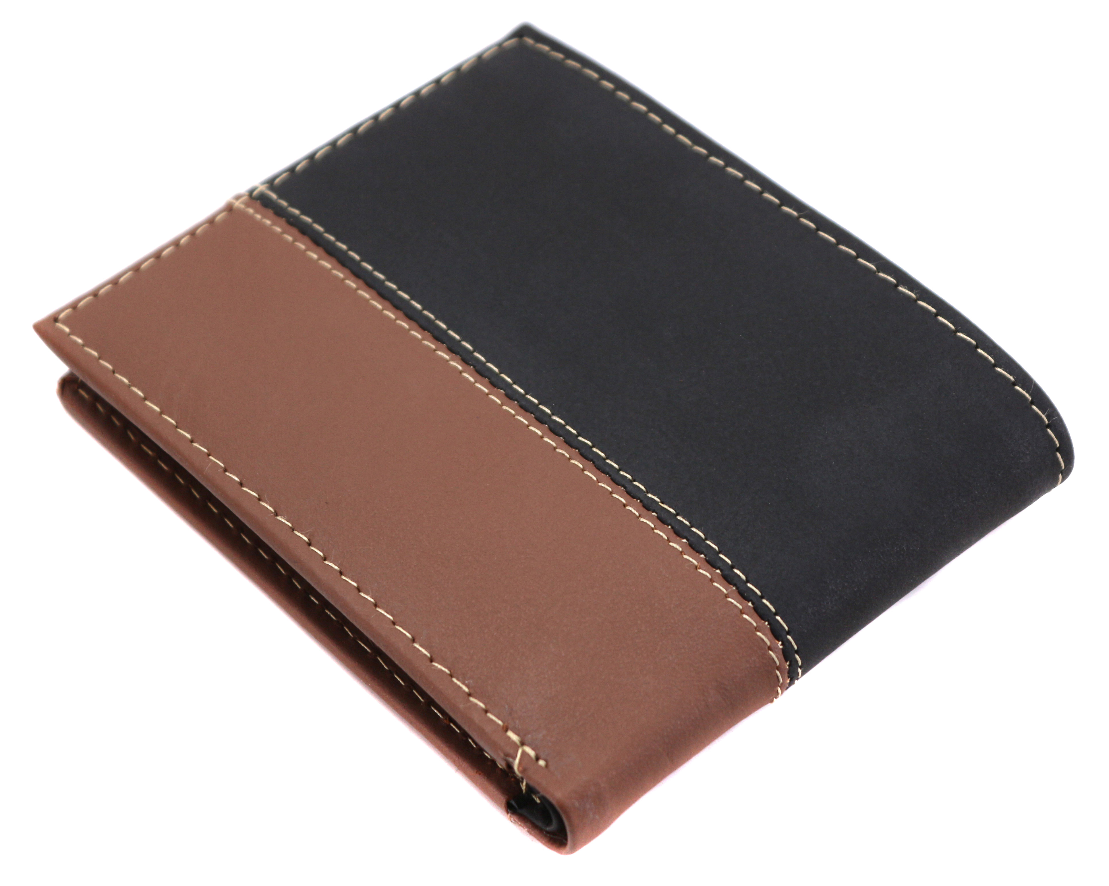 Timberland-Men-039-s-Genuine-Two-Tone-Leather-Credit-Card-Billfold-Commuter-Wallet thumbnail 10