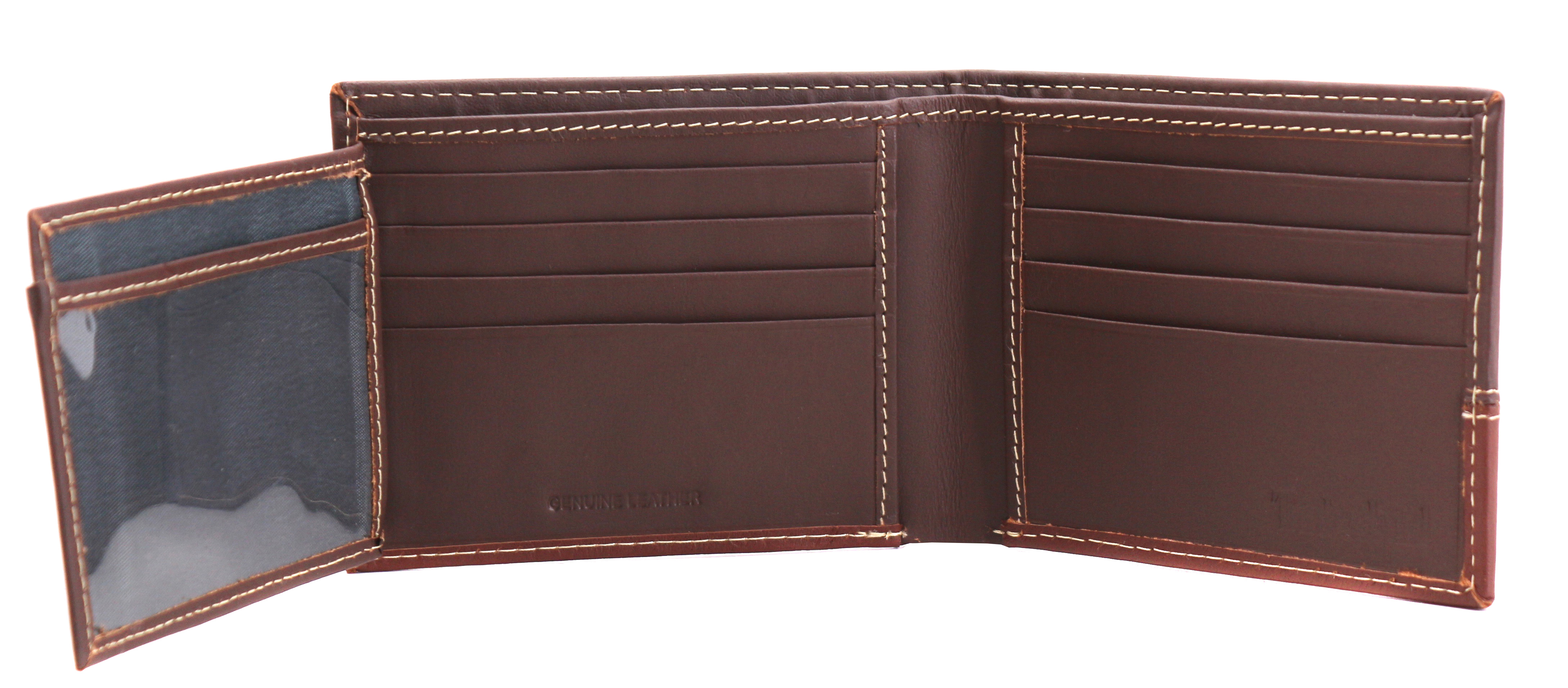 Timberland-Men-039-s-Genuine-Two-Tone-Leather-Credit-Card-Billfold-Commuter-Wallet thumbnail 23