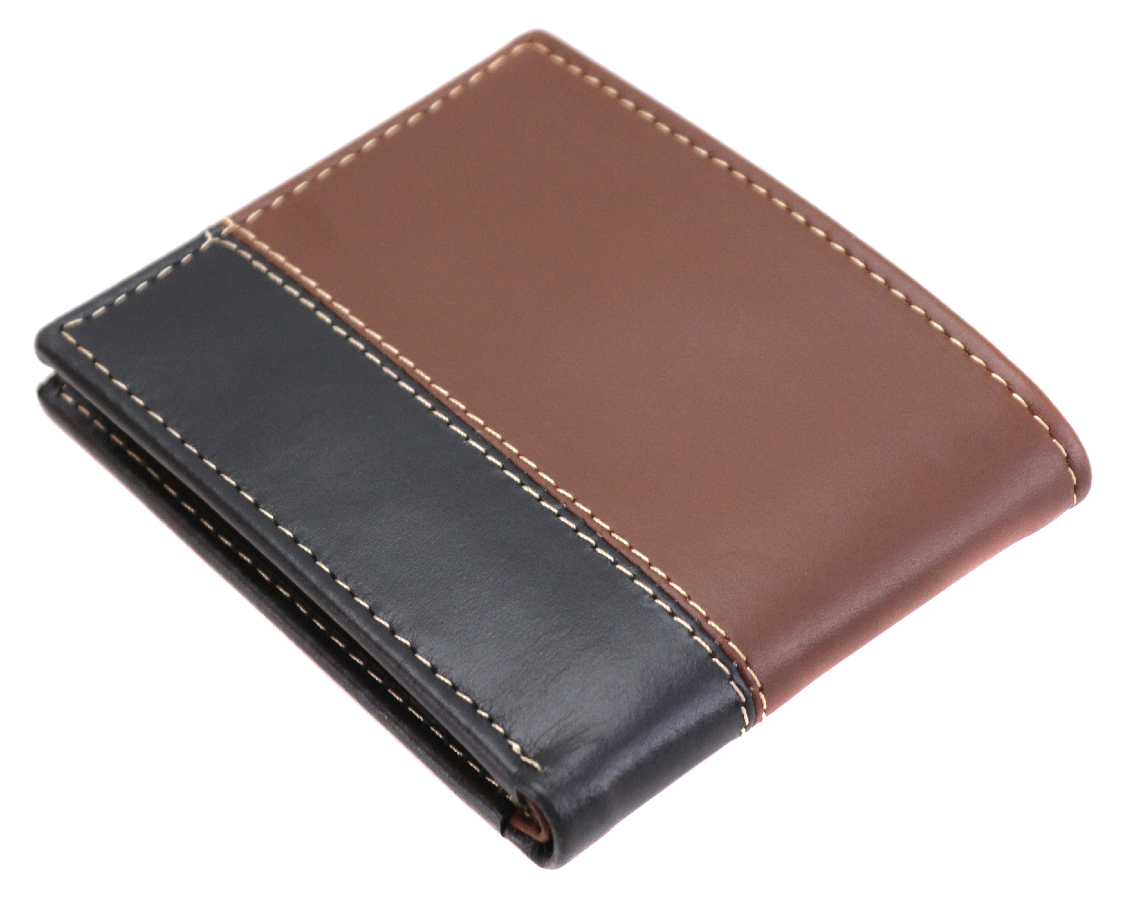 Timberland-Men-039-s-Genuine-Two-Tone-Leather-Credit-Card-Billfold-Commuter-Wallet thumbnail 28