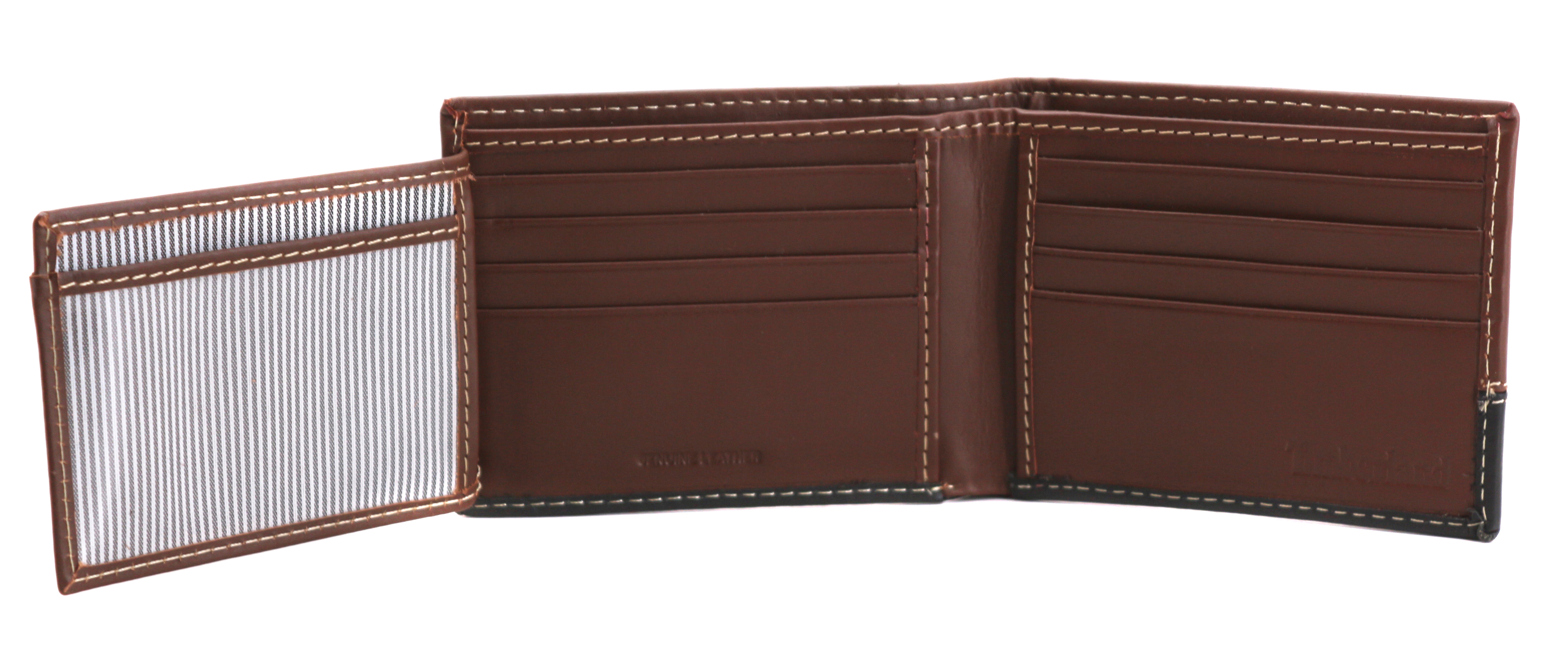 Timberland-Men-039-s-Genuine-Two-Tone-Leather-Credit-Card-Billfold-Commuter-Wallet thumbnail 32