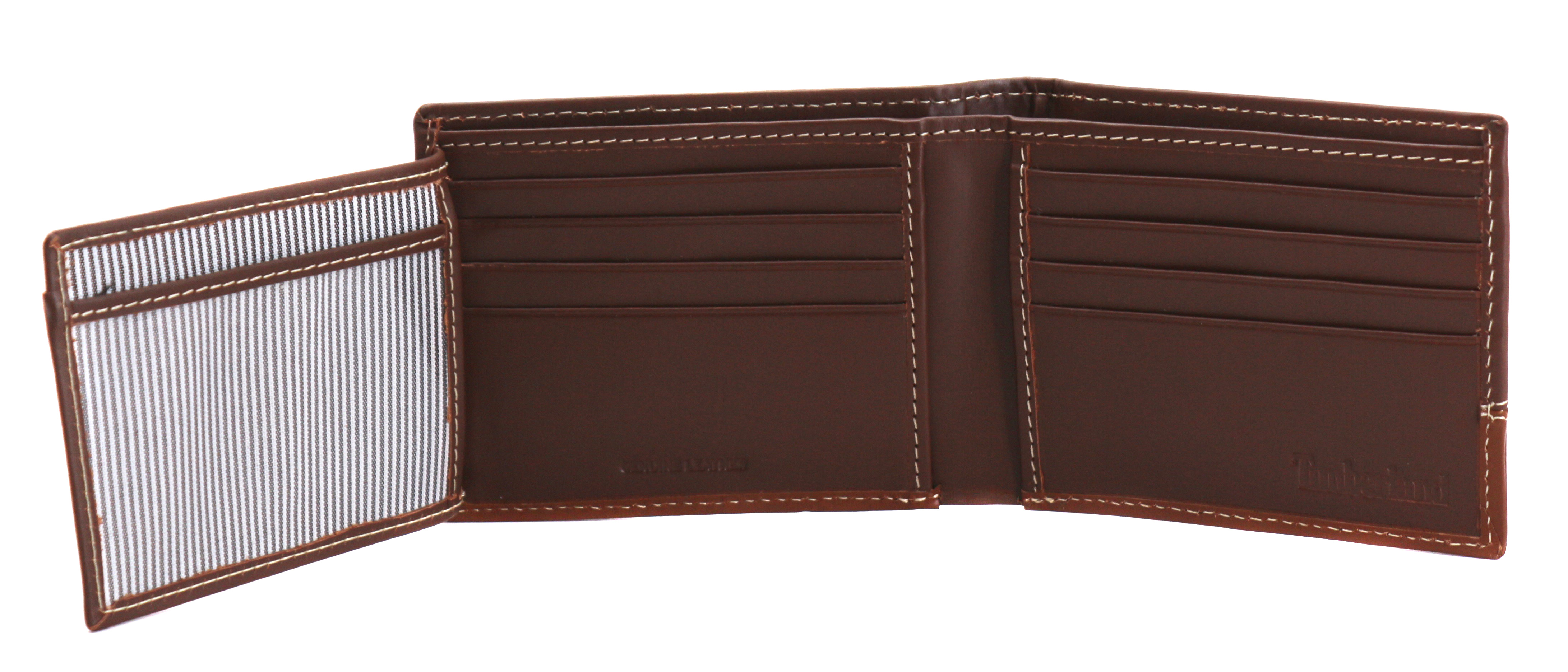 Timberland-Men-039-s-Genuine-Two-Tone-Leather-Credit-Card-Billfold-Commuter-Wallet thumbnail 41