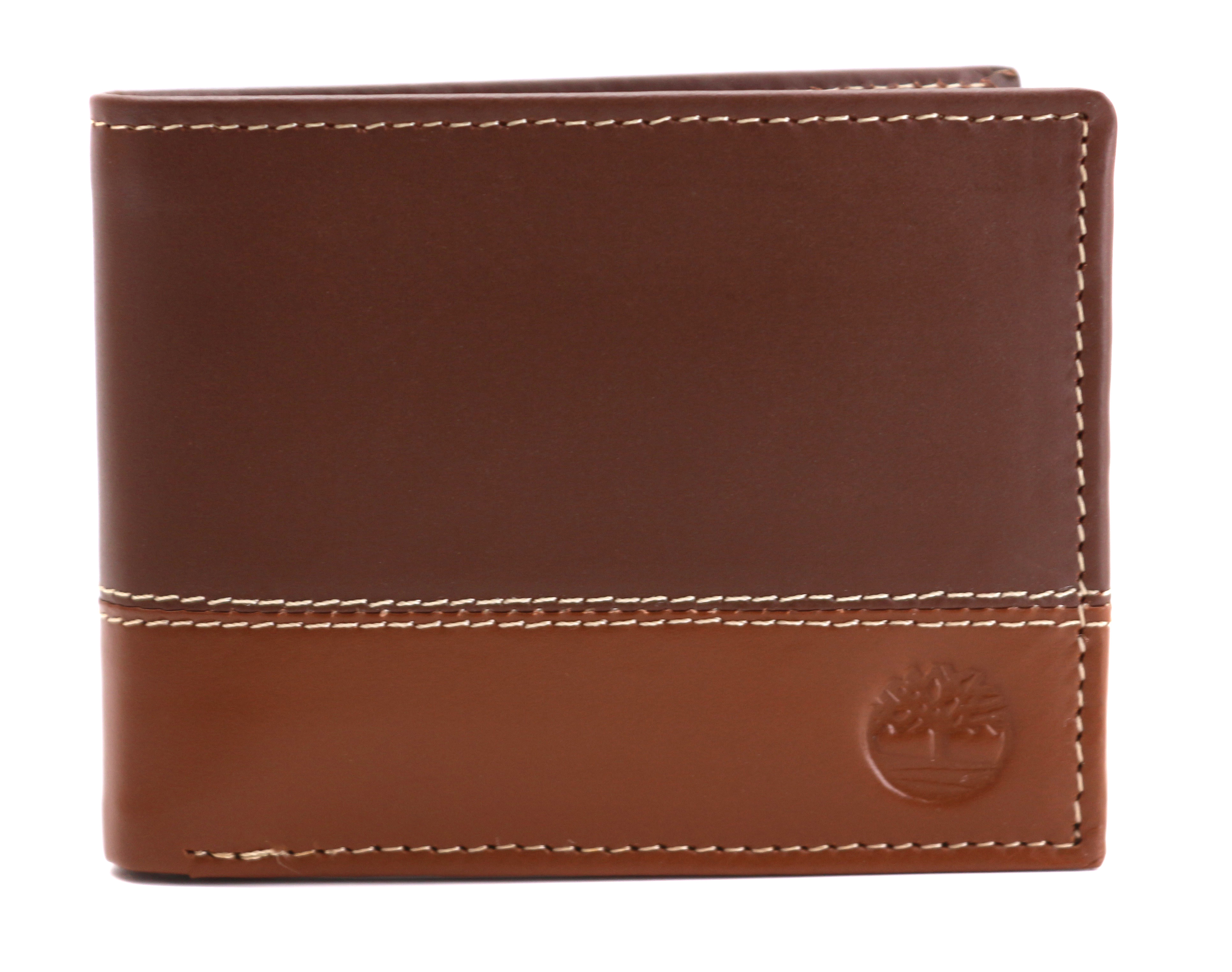 Timberland-Men-039-s-Genuine-Two-Tone-Leather-Credit-Card-Billfold-Commuter-Wallet thumbnail 38