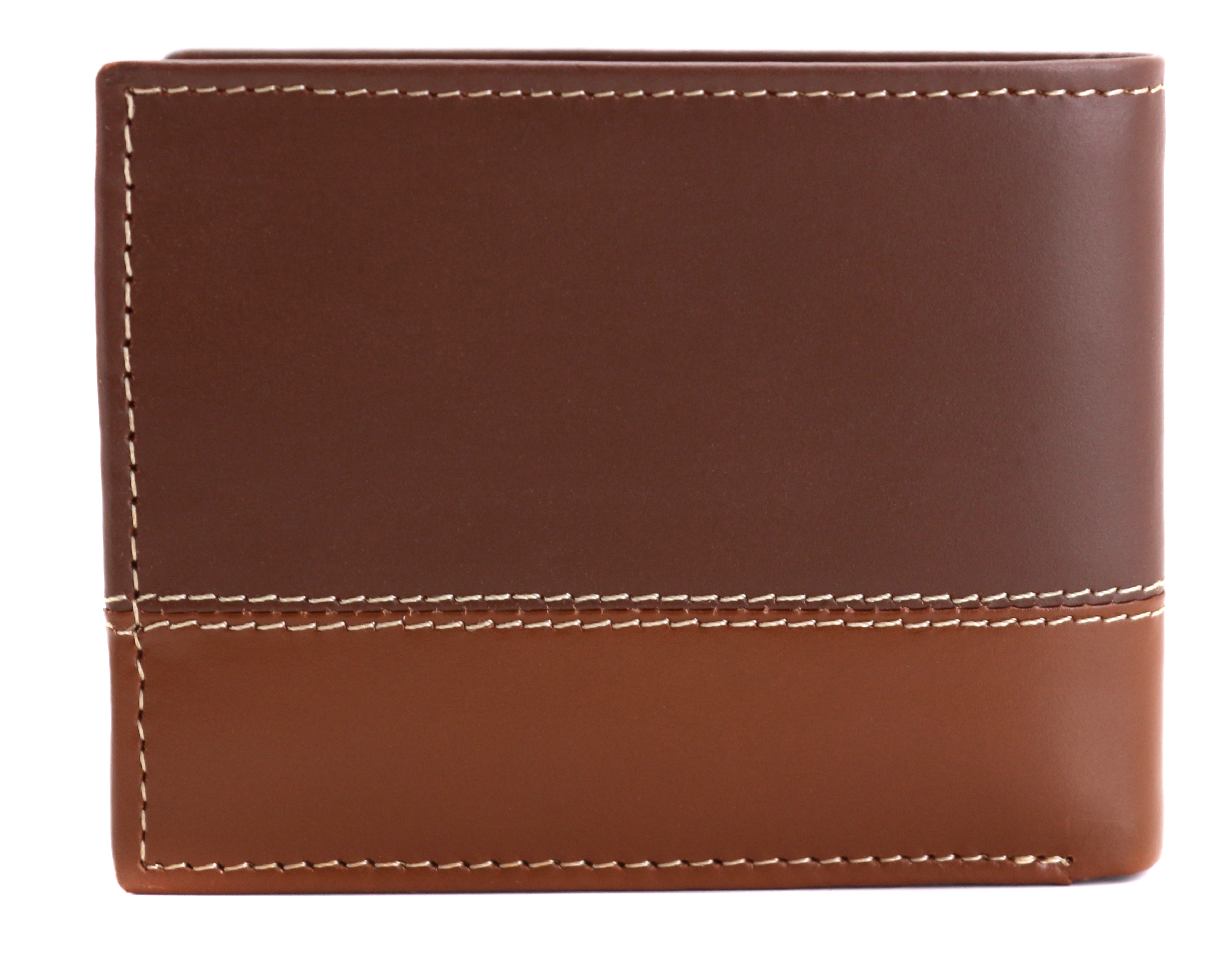 Timberland-Men-039-s-Genuine-Two-Tone-Leather-Credit-Card-Billfold-Commuter-Wallet thumbnail 39