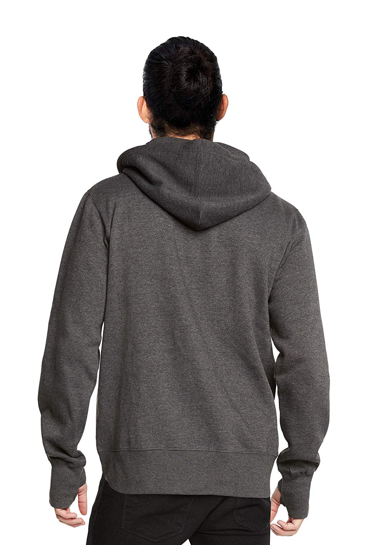 miniature 10 - Men-039-s-Zip-Up-Thumbhole-Ninja-Turtleneck-Skinny-Fit-Face-Protection-Hoodie-Jacket
