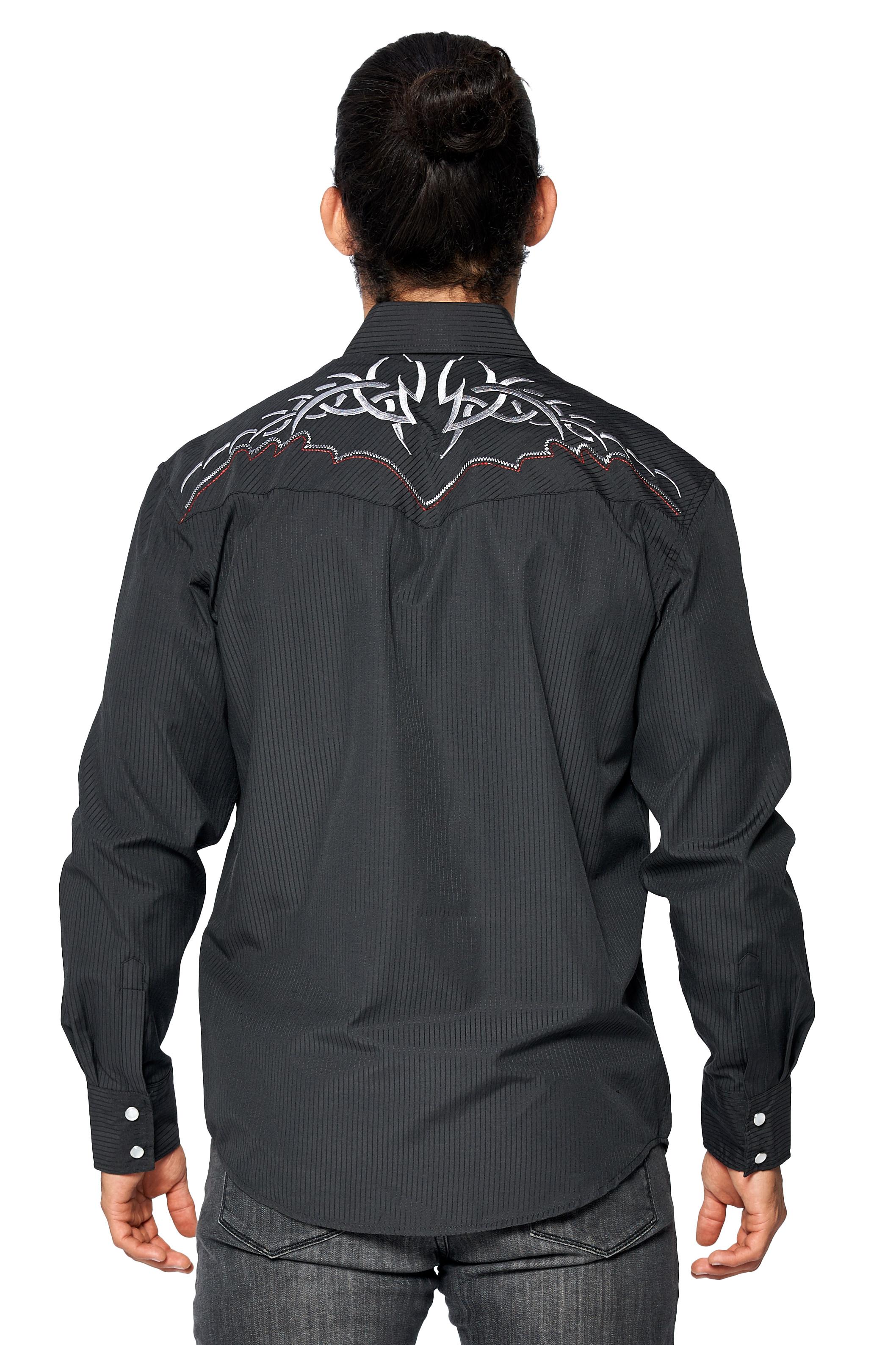 LW-Men-039-s-Pearl-Snap-Tribal-Stylish-Printed-Woven-Western-Vaquero-Rodeo-Shirt thumbnail 55