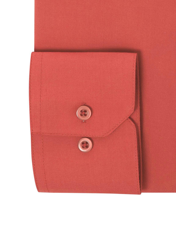 Berlioni-Italy-Men-039-s-Premium-Classic-French-Convertible-Cuff-Solid-Dress-Shirt thumbnail 46