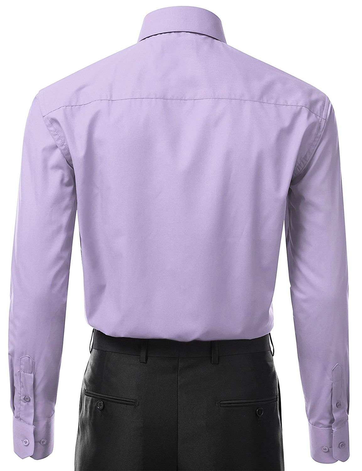 Berlioni-Italy-Men-039-s-Premium-Classic-French-Convertible-Cuff-Solid-Dress-Shirt thumbnail 61