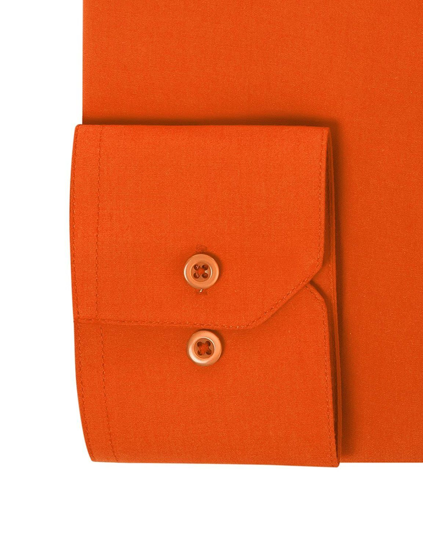 Berlioni-Italy-Men-039-s-Premium-Classic-French-Convertible-Cuff-Solid-Dress-Shirt thumbnail 66