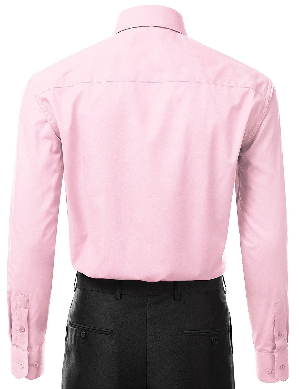 Berlioni-Italy-Men-039-s-Premium-Classic-French-Convertible-Cuff-Solid-Dress-Shirt thumbnail 13
