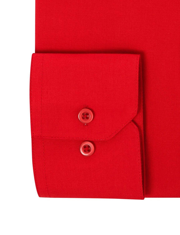 Berlioni-Italy-Men-039-s-Premium-Classic-French-Convertible-Cuff-Solid-Dress-Shirt thumbnail 10