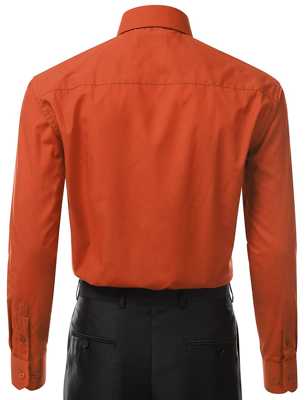 Berlioni-Italy-Men-039-s-Premium-Classic-French-Convertible-Cuff-Solid-Dress-Shirt thumbnail 5