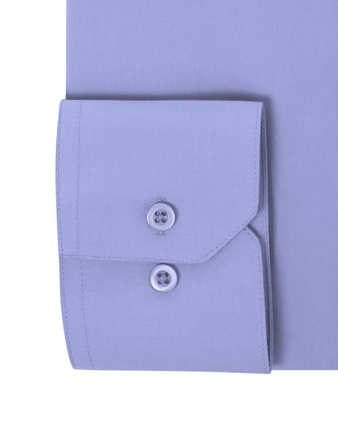 Berlioni-Italy-Men-039-s-Premium-Classic-French-Convertible-Cuff-Solid-Dress-Shirt thumbnail 18