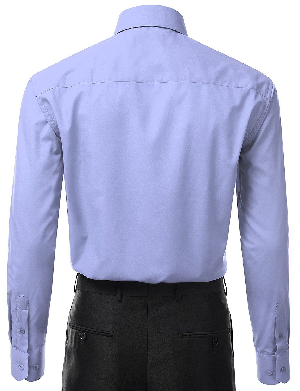 Berlioni-Italy-Men-039-s-Premium-Classic-French-Convertible-Cuff-Solid-Dress-Shirt thumbnail 17