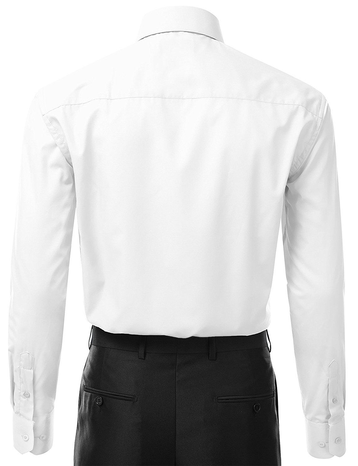 Berlioni-Italy-Men-039-s-Premium-Classic-French-Convertible-Cuff-Solid-Dress-Shirt thumbnail 69