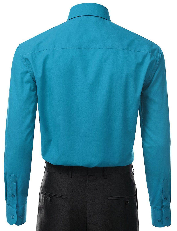 Berlioni-Italy-Men-039-s-Premium-Classic-French-Convertible-Cuff-Solid-Dress-Shirt thumbnail 37