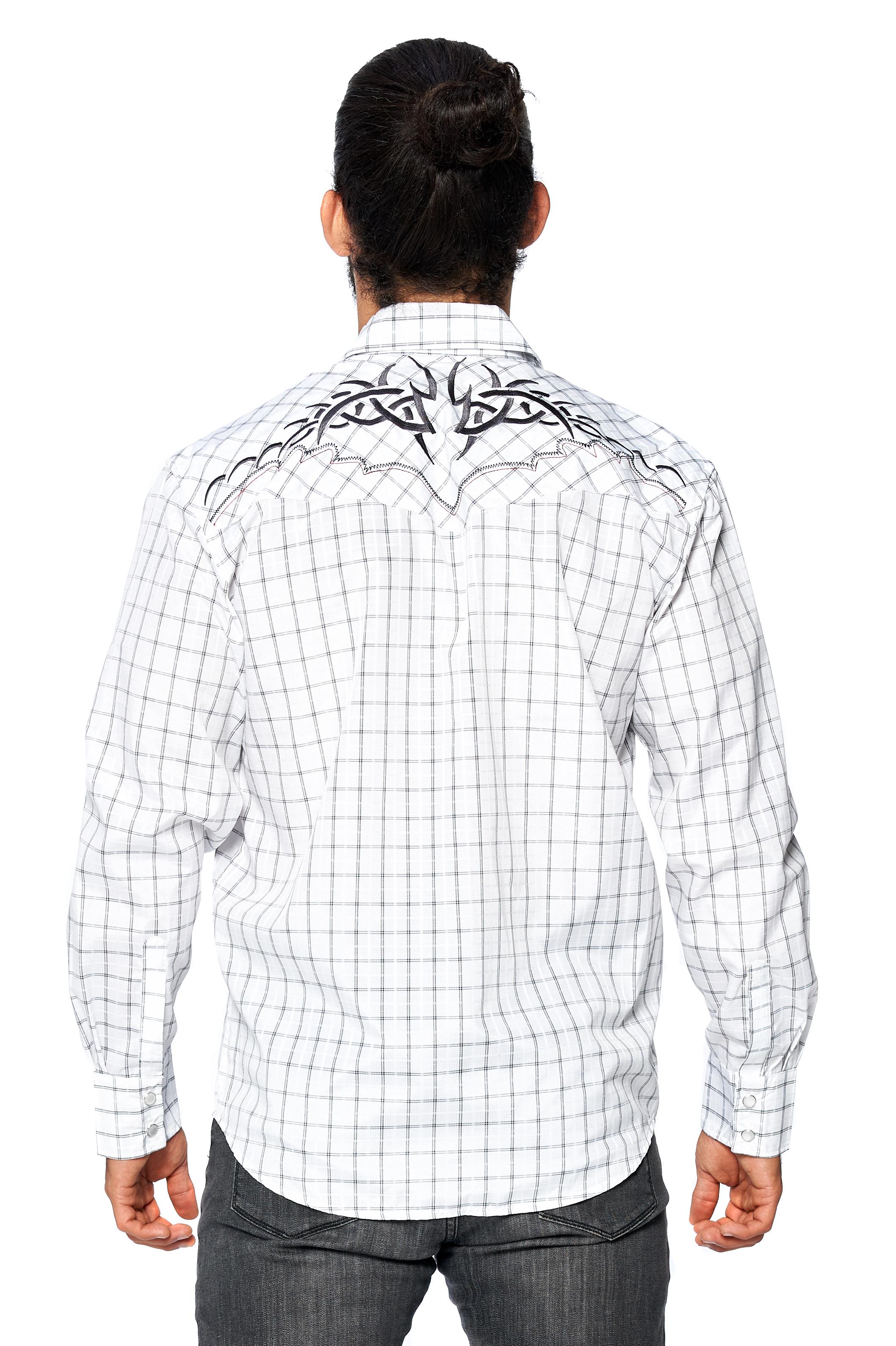 LW-Men-039-s-Pearl-Snap-Tribal-Stylish-Printed-Woven-Western-Vaquero-Rodeo-Shirt thumbnail 65