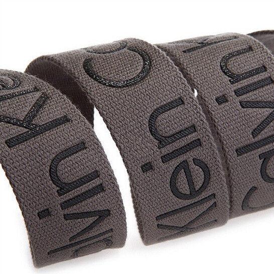 New-Calvin-Klein-Men-039-s-Premium-CK-Logo-Cotton-Adjustable-38mm-Canvas-Belt-73545 thumbnail 15