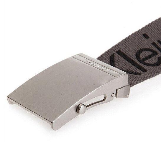 New-Calvin-Klein-Men-039-s-Premium-CK-Logo-Cotton-Adjustable-38mm-Canvas-Belt-73545 thumbnail 13