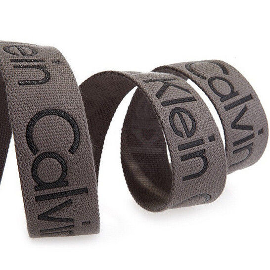New-Calvin-Klein-Men-039-s-Premium-CK-Logo-Cotton-Adjustable-38mm-Canvas-Belt-73545 thumbnail 16