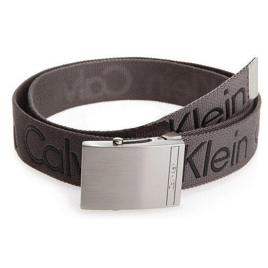 New-Calvin-Klein-Men-039-s-Premium-CK-Logo-Cotton-Adjustable-38mm-Canvas-Belt-73545 thumbnail 11