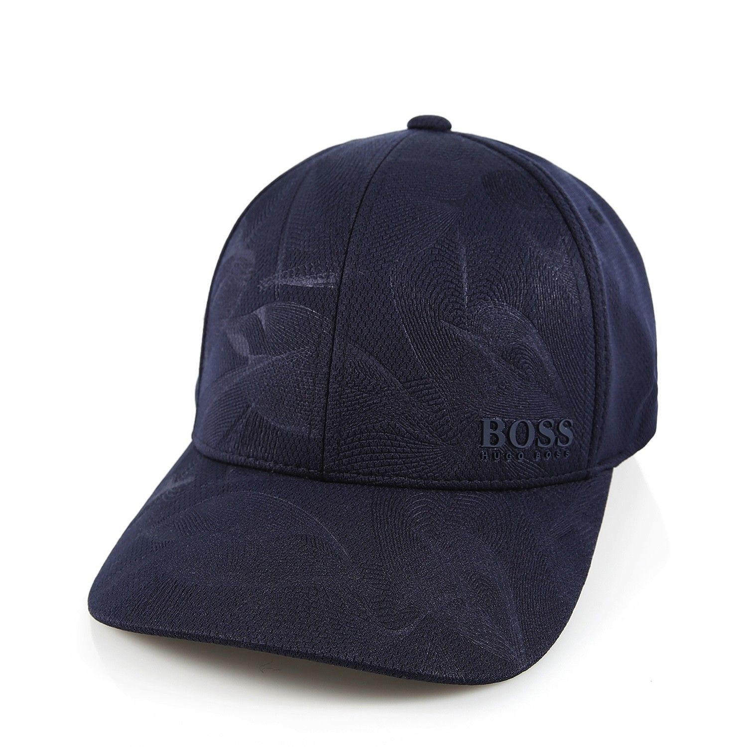 hugo boss men 39 s premium adjustable sport print hat cap. Black Bedroom Furniture Sets. Home Design Ideas