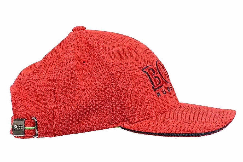 b28ef961aeed48 New Hugo Boss Men's Pique Logo Adjustable Trucker Sport Hat Cap ...