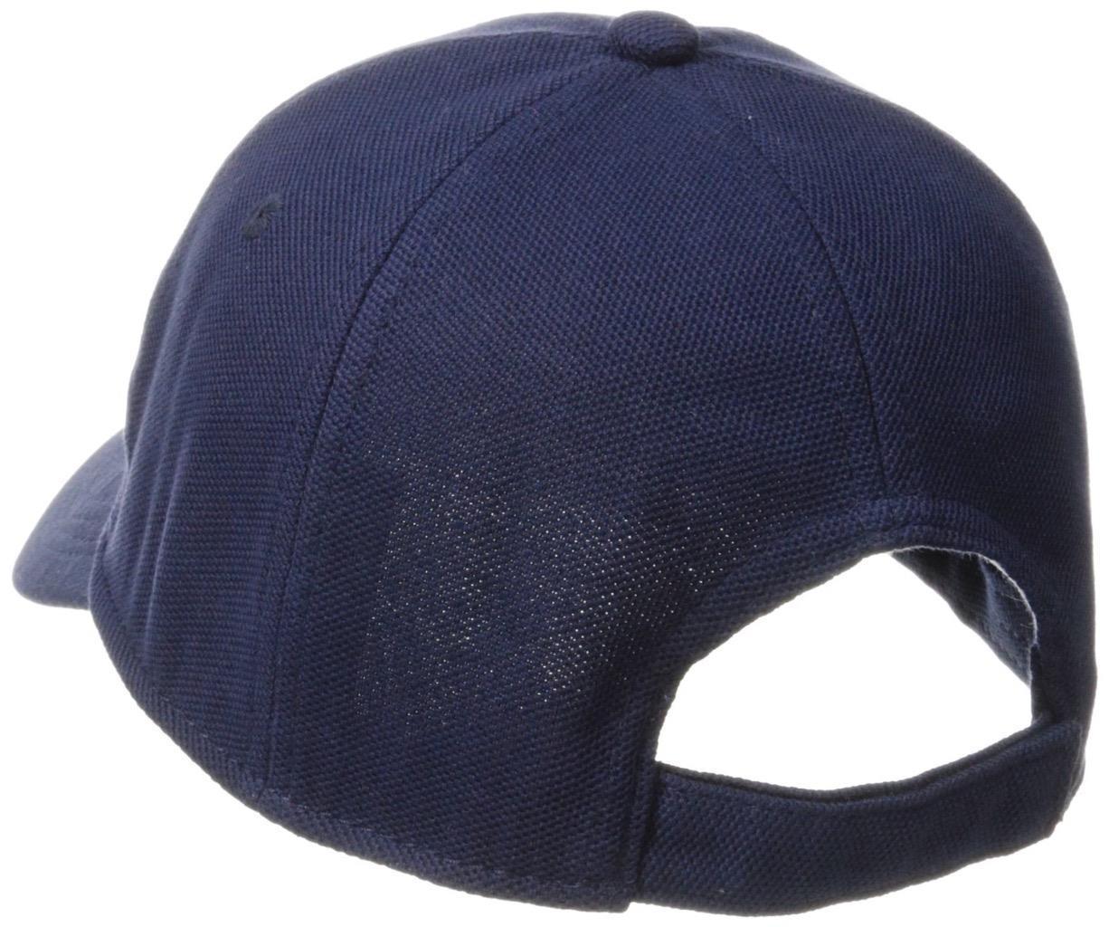f823241d700 Lacoste Men s Classic Baseball Premium Cotton Pique Croc Logo Hat ...