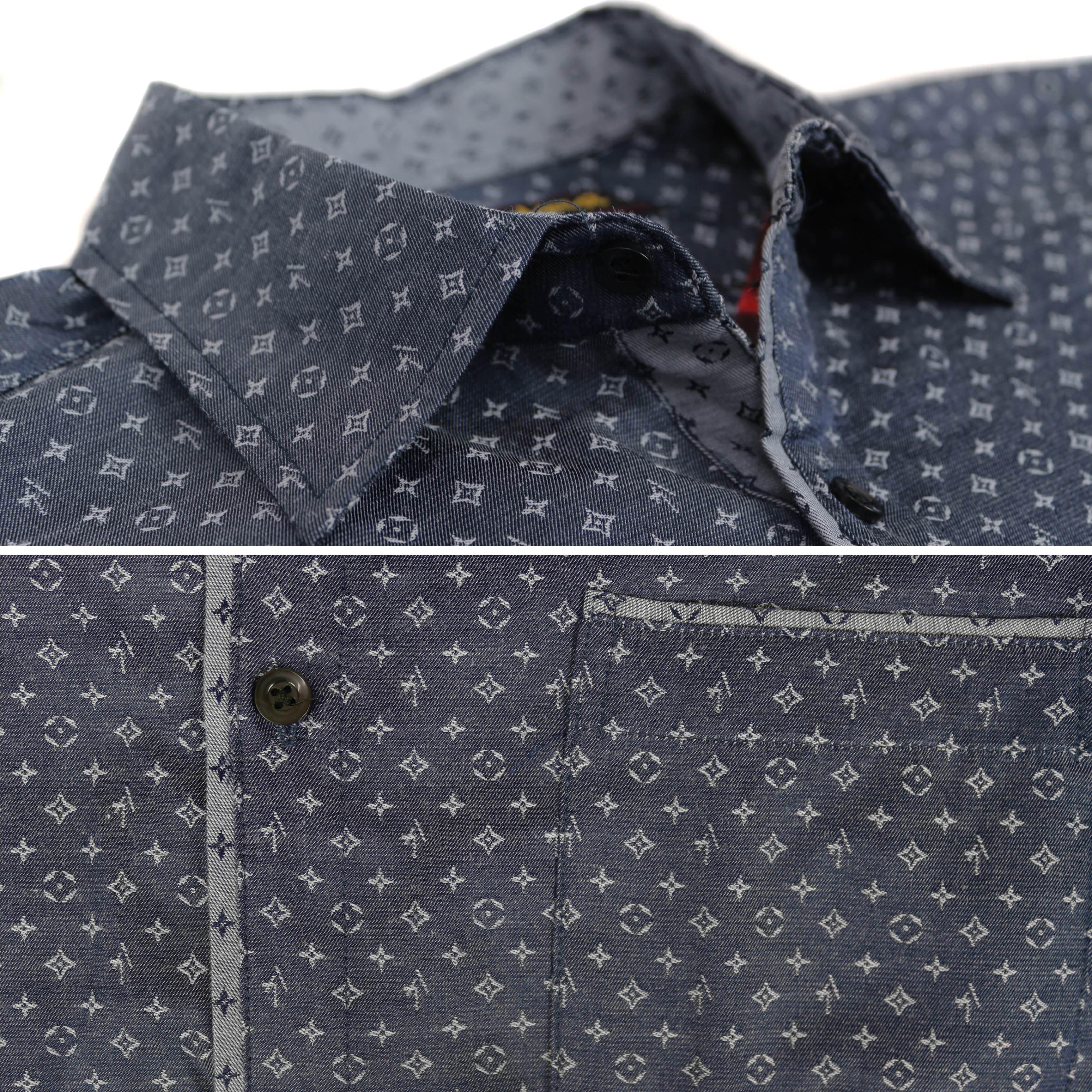 thumbnail 10 - LW-Men-039-s-Western-Button-Up-Long-Sleeve-Designer-Dress-Shirt