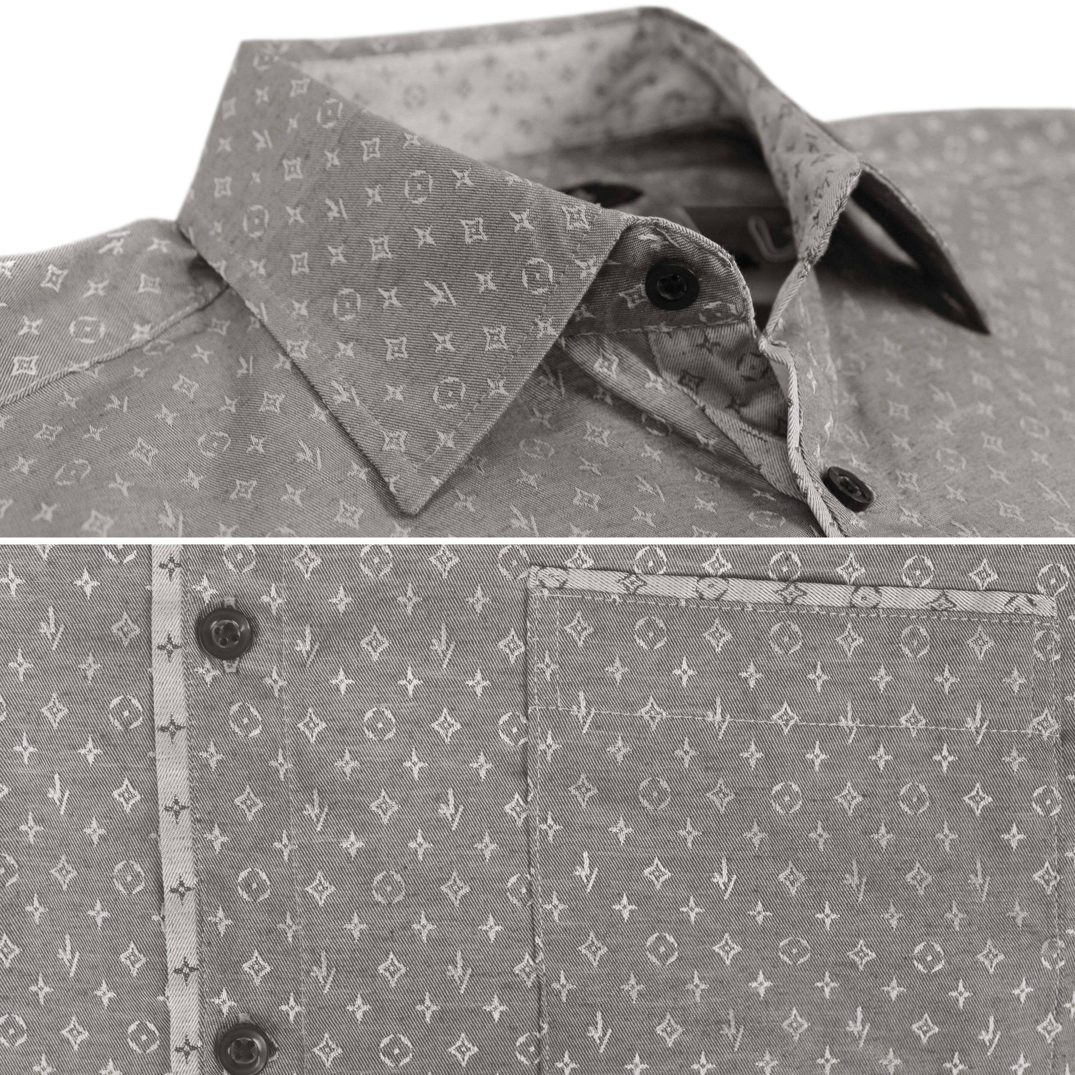 thumbnail 12 - LW-Men-039-s-Western-Button-Up-Long-Sleeve-Designer-Dress-Shirt