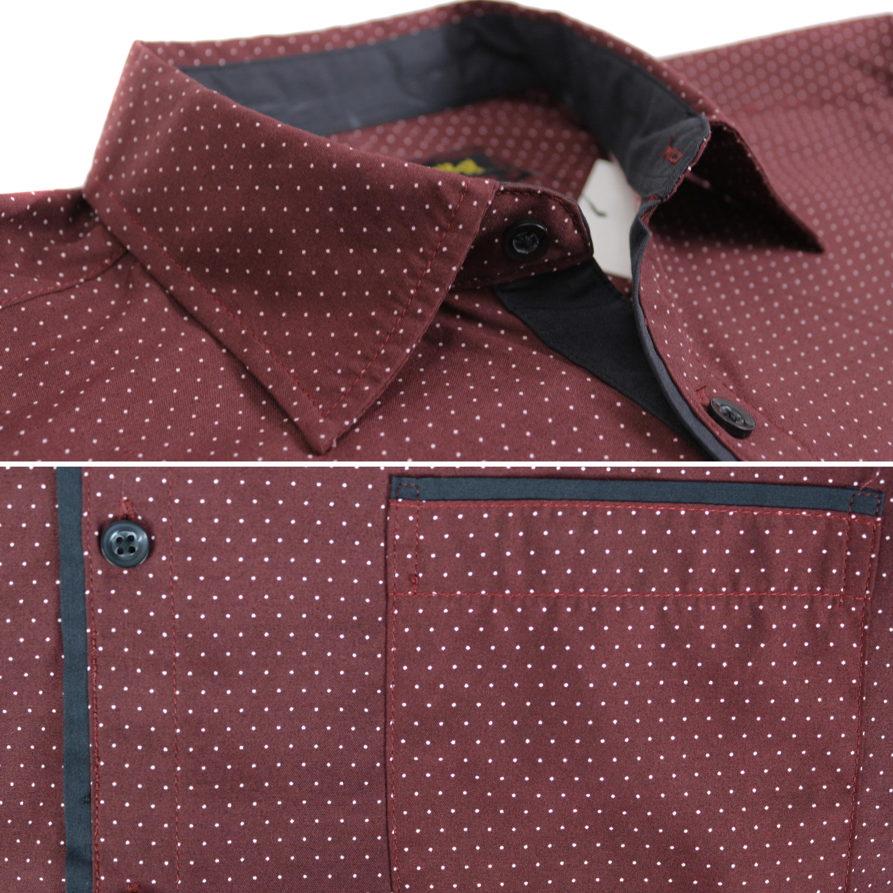 thumbnail 16 - LW-Men-039-s-Western-Button-Up-Long-Sleeve-Designer-Dress-Shirt