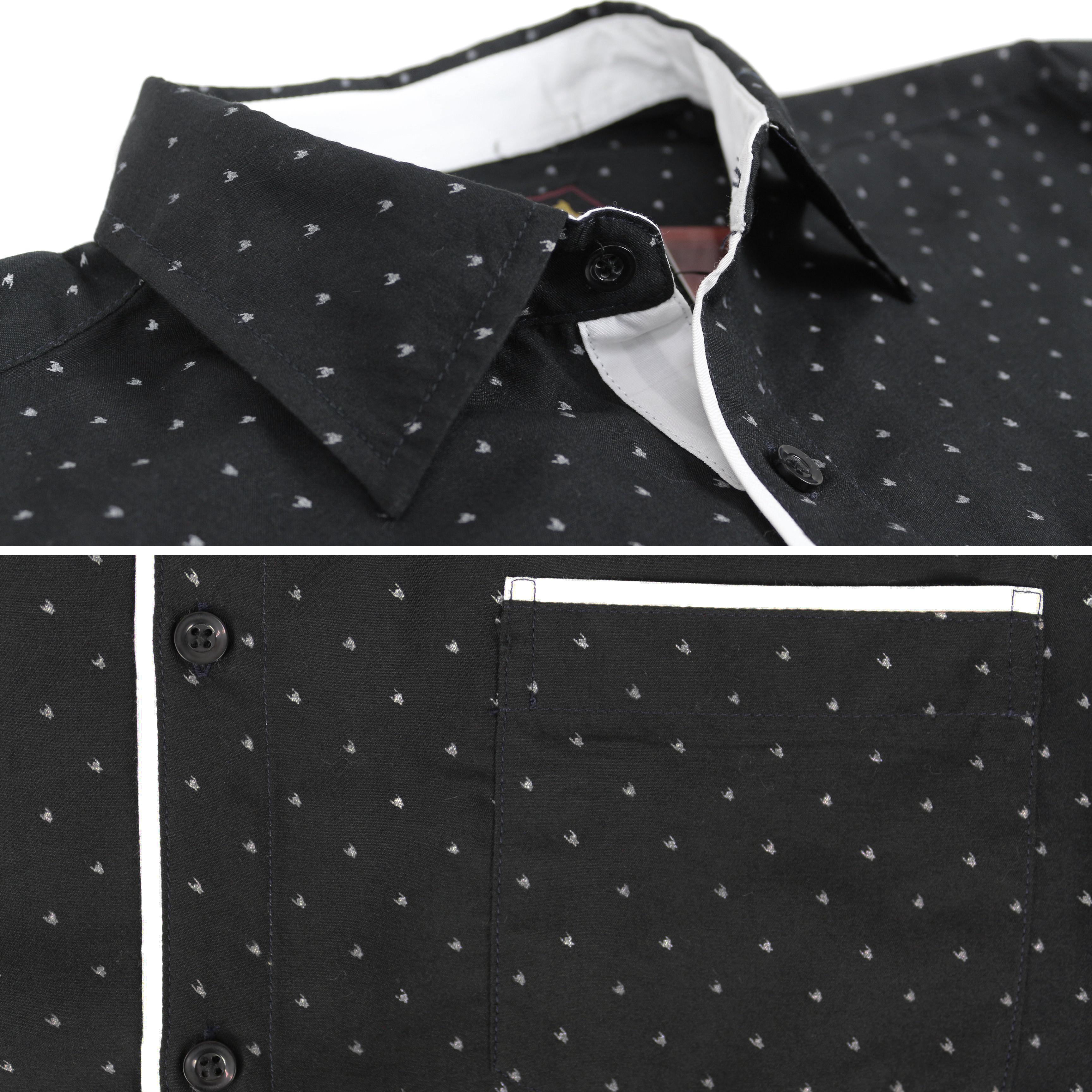 thumbnail 24 - LW-Men-039-s-Western-Button-Up-Long-Sleeve-Designer-Dress-Shirt
