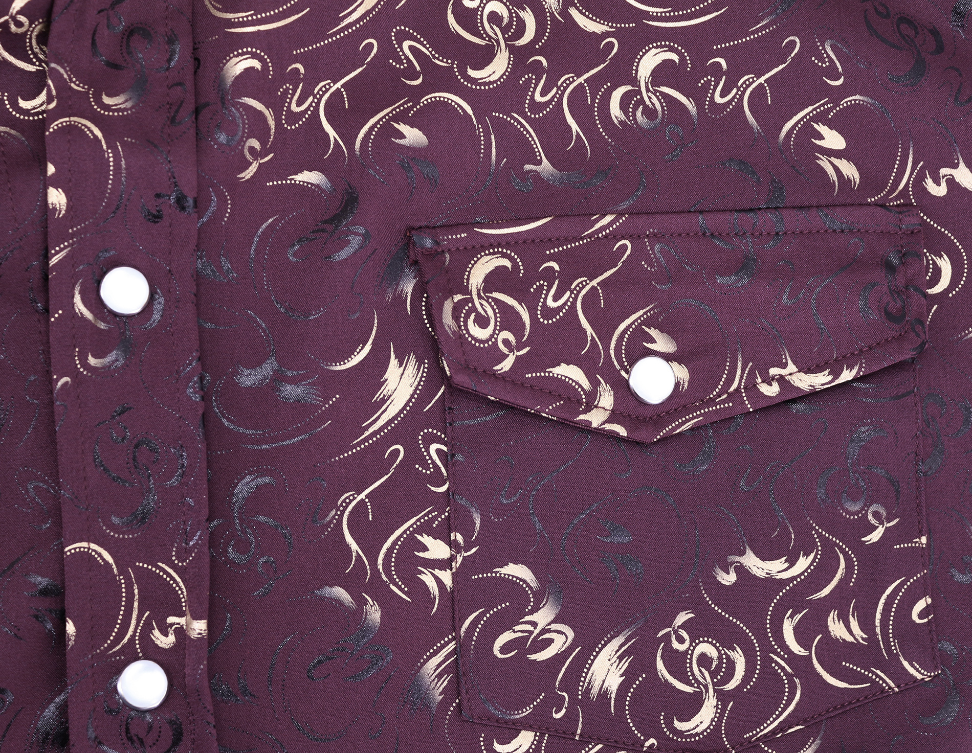 Men-039-s-Western-Long-Sleeve-Stylish-Metallic-Modern-Cowboy-Rodeo-Dress-Shirt thumbnail 17