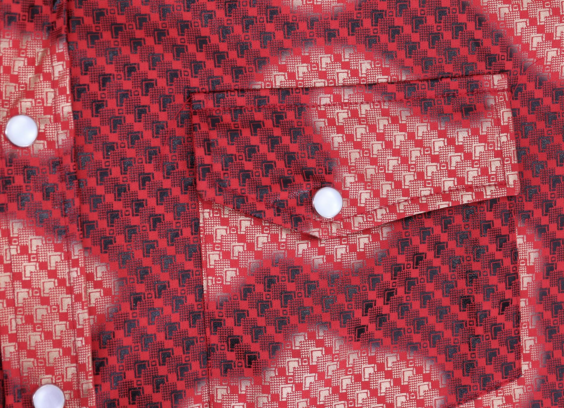 Men-039-s-Western-Long-Sleeve-Stylish-Metallic-Modern-Cowboy-Rodeo-Dress-Shirt thumbnail 26