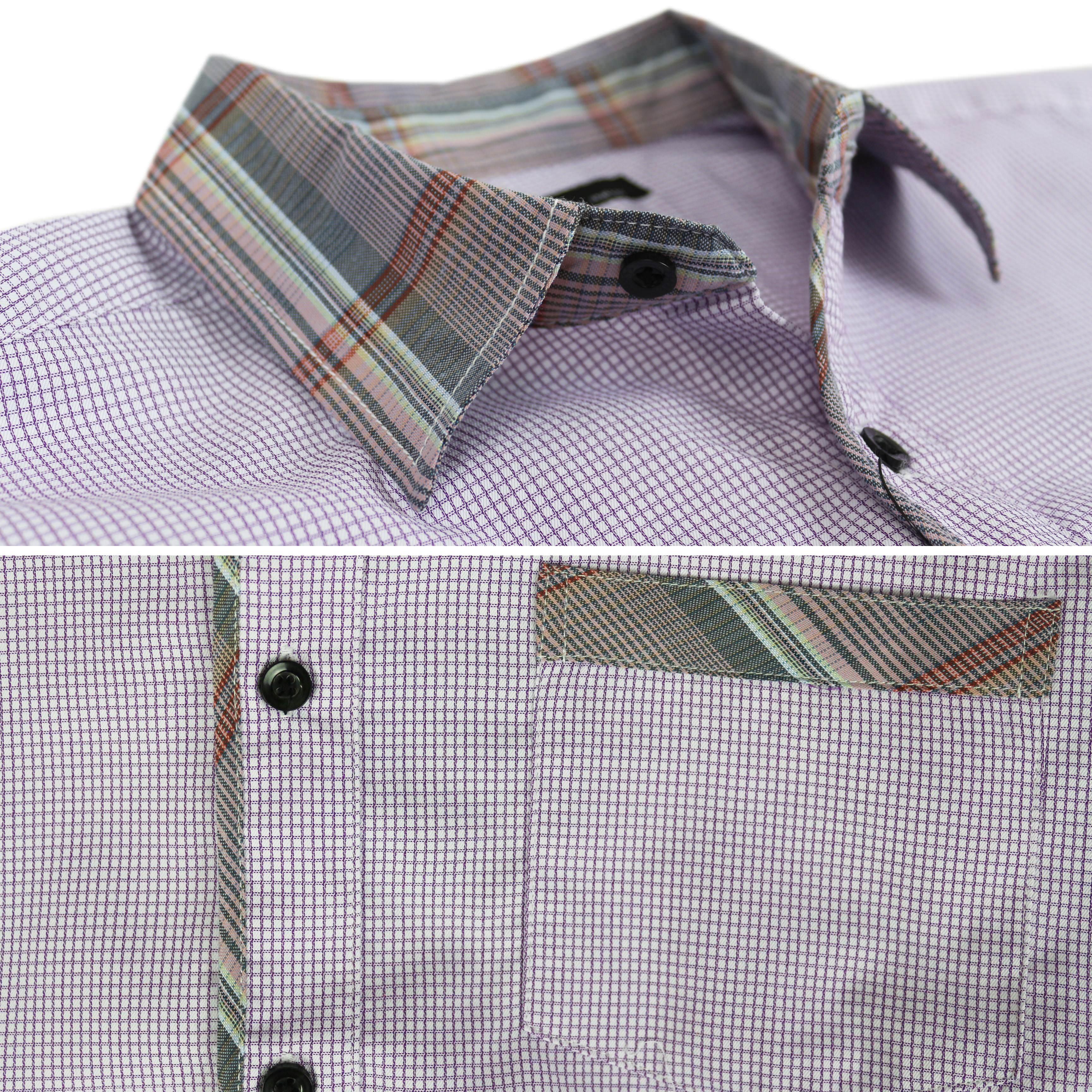 thumbnail 32 - LW-Men-039-s-Western-Button-Up-Long-Sleeve-Designer-Dress-Shirt