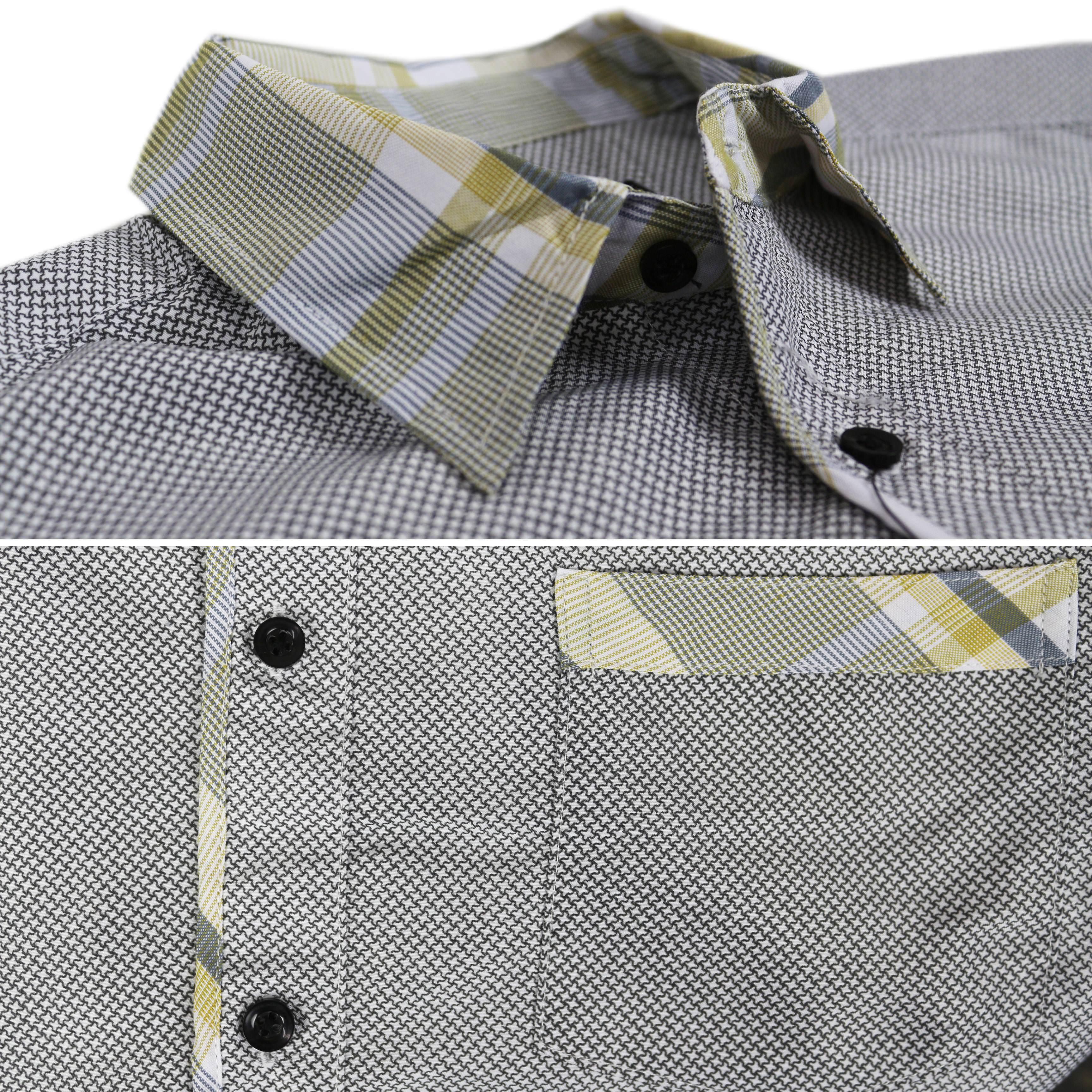 thumbnail 36 - LW-Men-039-s-Western-Button-Up-Long-Sleeve-Designer-Dress-Shirt