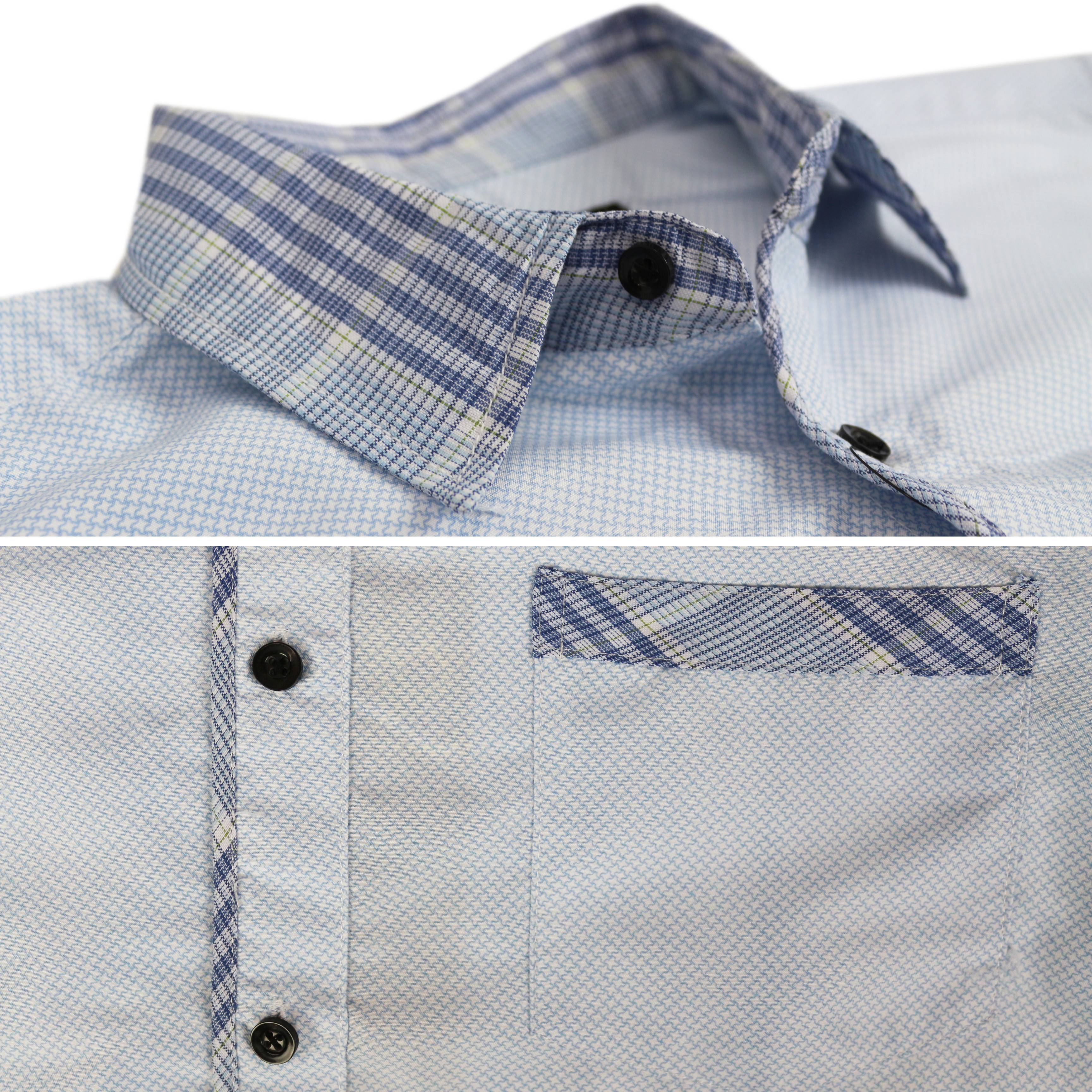 thumbnail 38 - LW-Men-039-s-Western-Button-Up-Long-Sleeve-Designer-Dress-Shirt