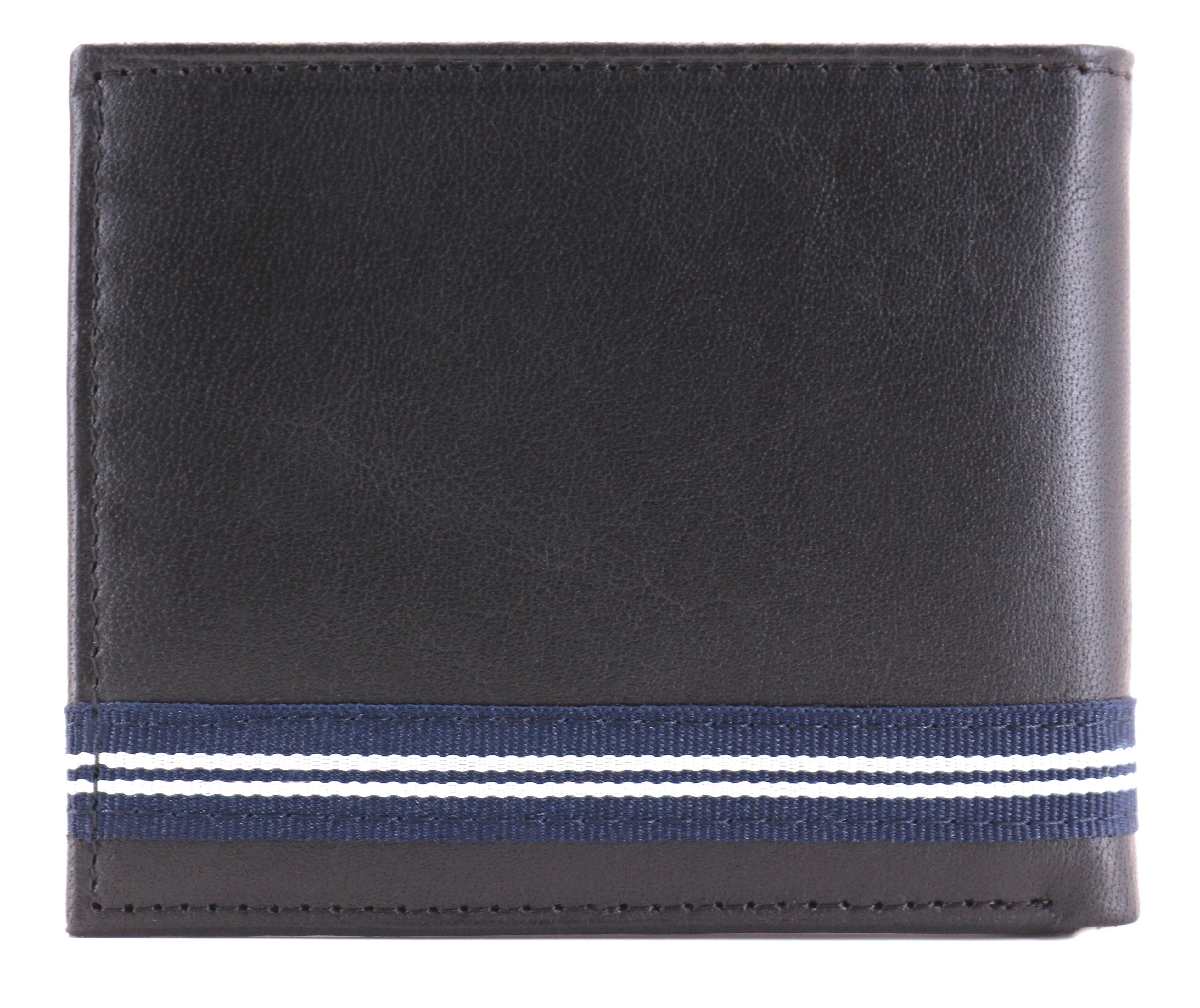 Nautica-Men-039-s-Genuine-Leather-Credit-Card-ID-Double-Billfold-Passcase-Wallet thumbnail 3