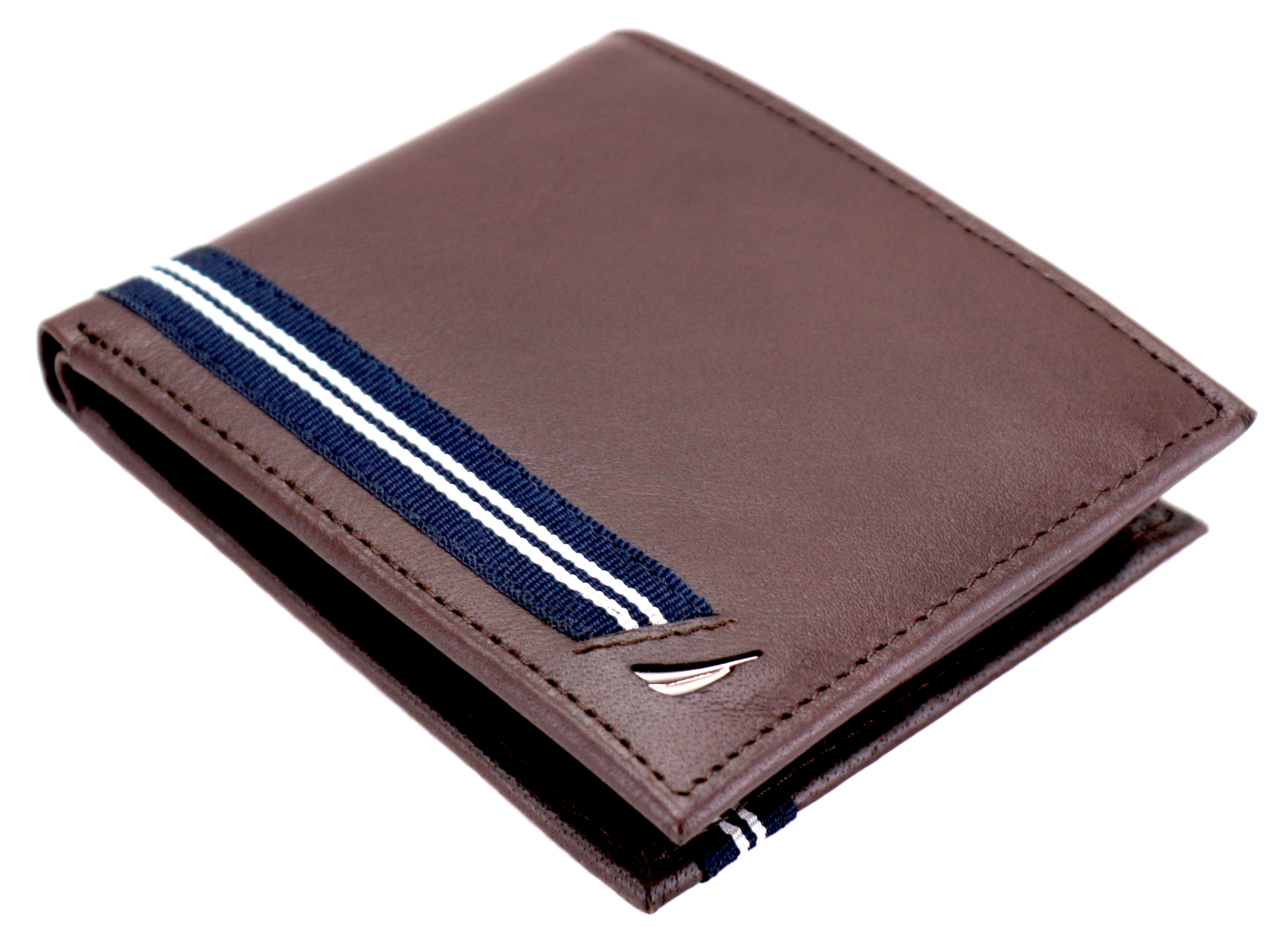 Nautica-Men-039-s-Genuine-Leather-Credit-Card-ID-Double-Billfold-Passcase-Wallet thumbnail 14