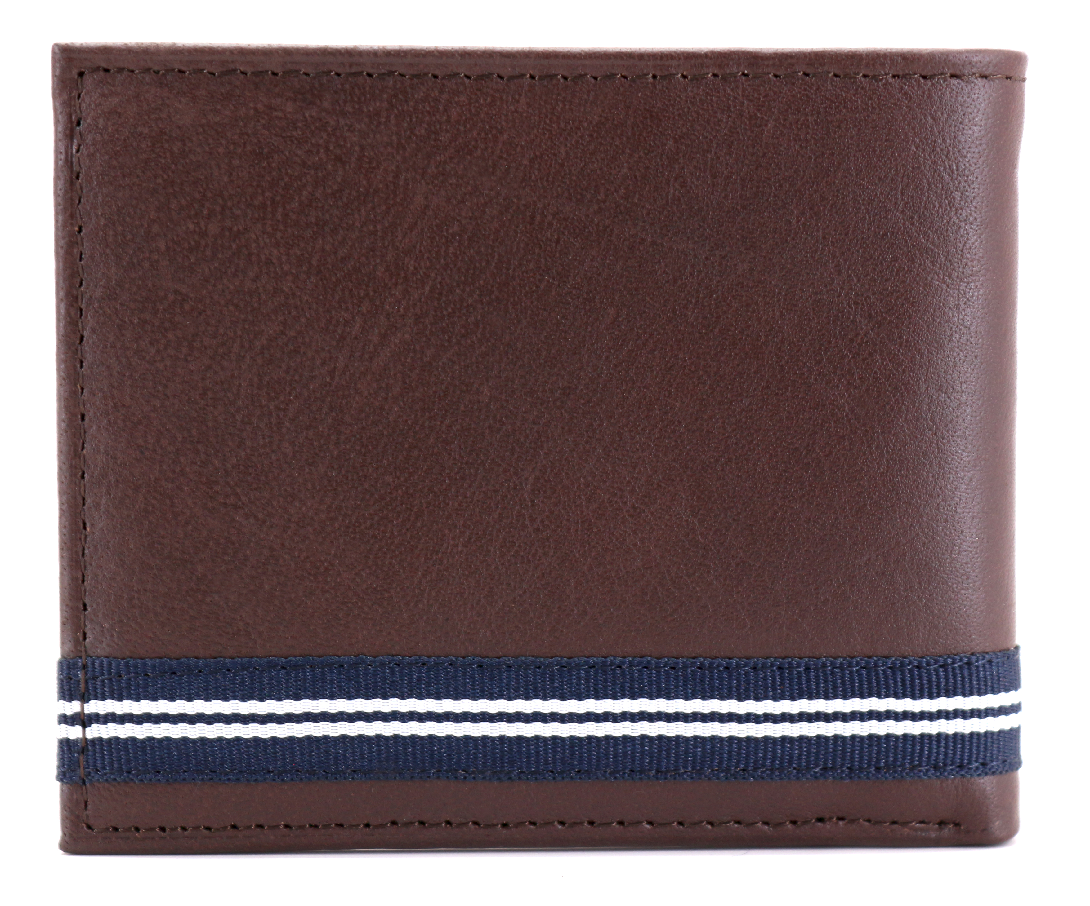 Nautica-Men-039-s-Genuine-Leather-Credit-Card-ID-Double-Billfold-Passcase-Wallet thumbnail 13