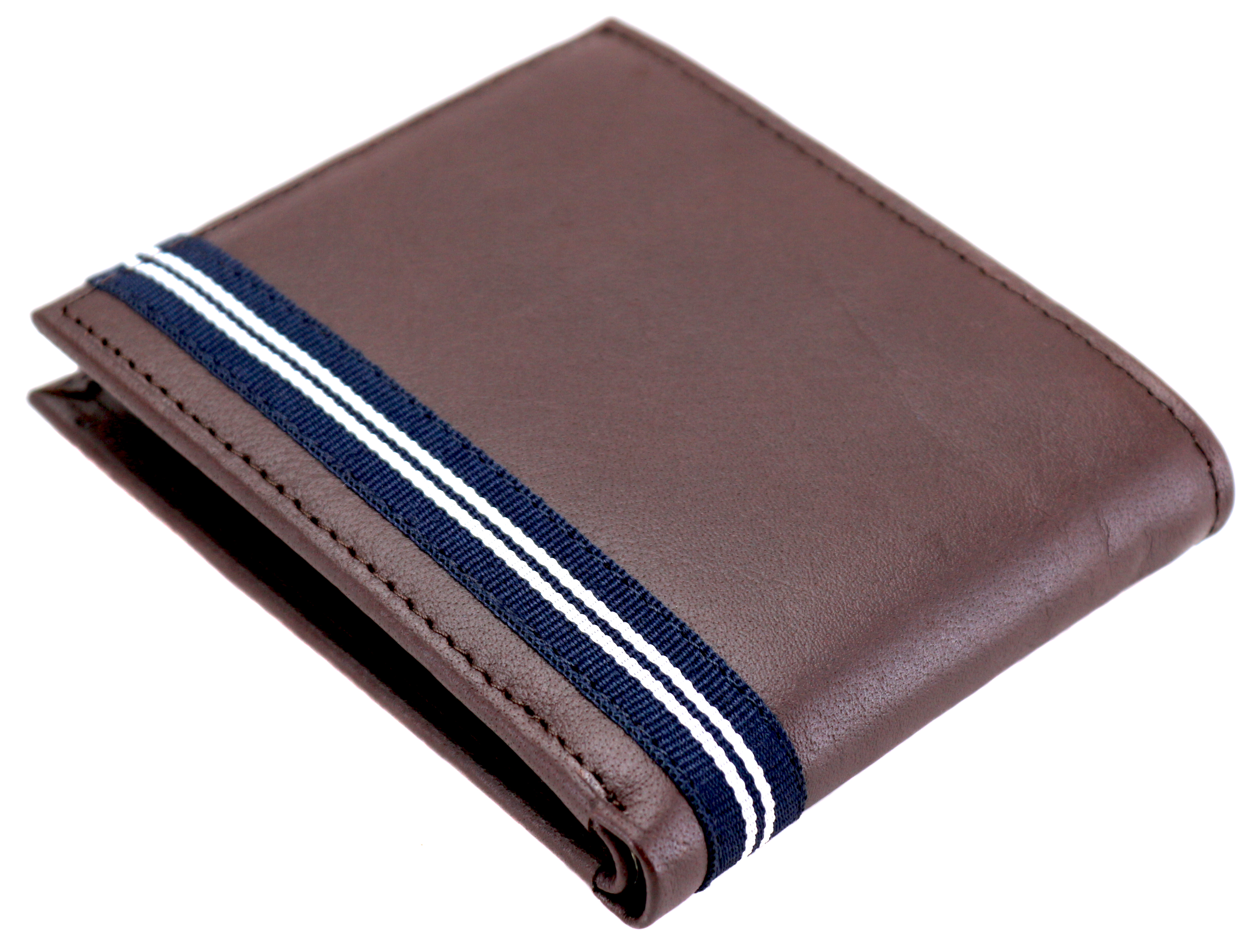 Nautica-Men-039-s-Genuine-Leather-Credit-Card-ID-Double-Billfold-Passcase-Wallet thumbnail 15