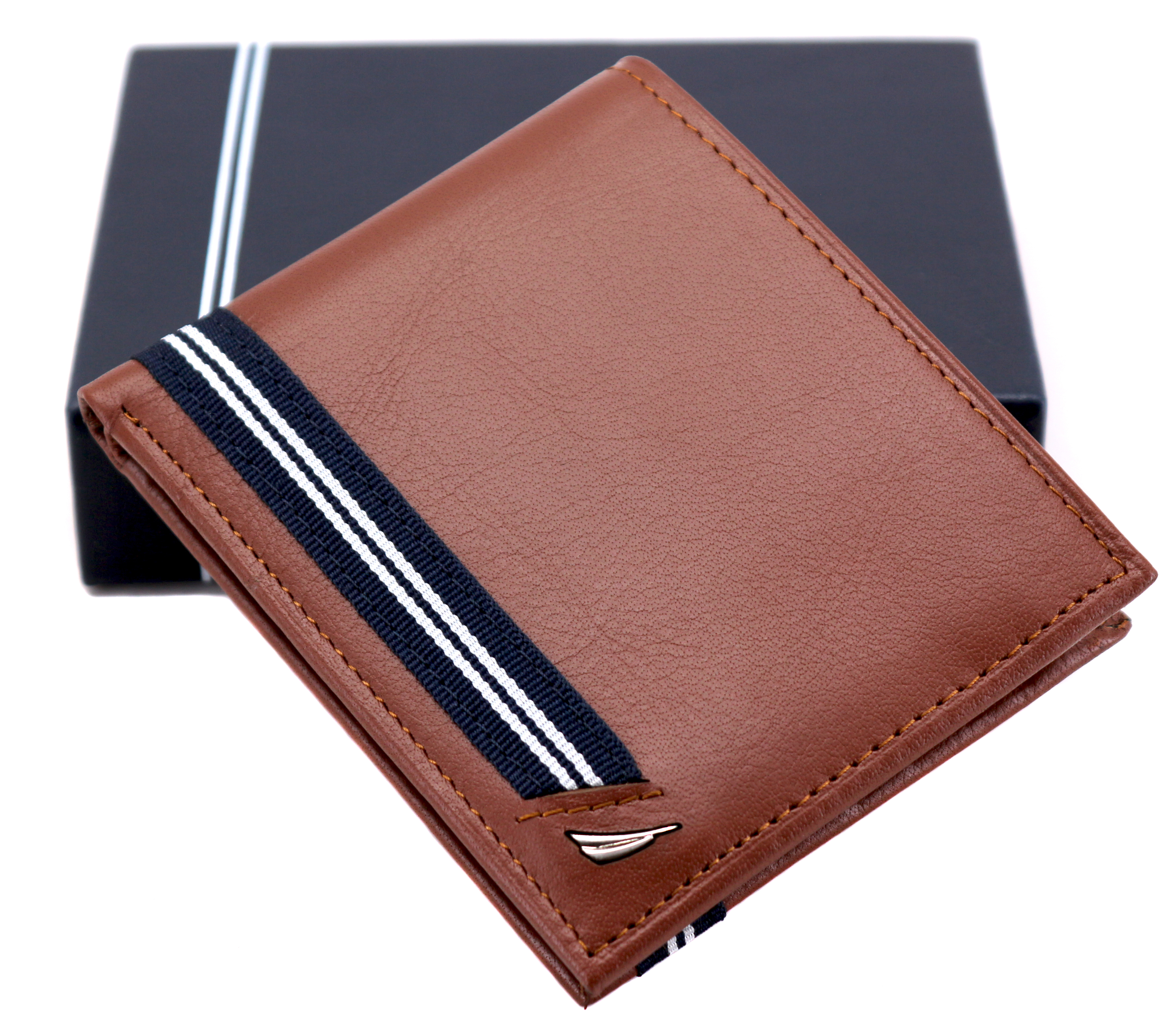 Nautica-Men-039-s-Genuine-Leather-Credit-Card-ID-Double-Billfold-Passcase-Wallet thumbnail 29