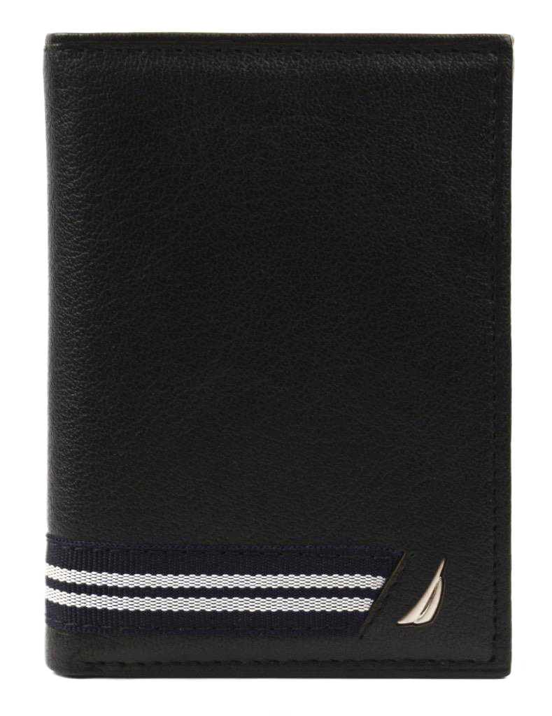 Nautica-Men-039-s-Genuine-Leather-Credit-Card-Id-Holder-Trifold-Wallet thumbnail 5