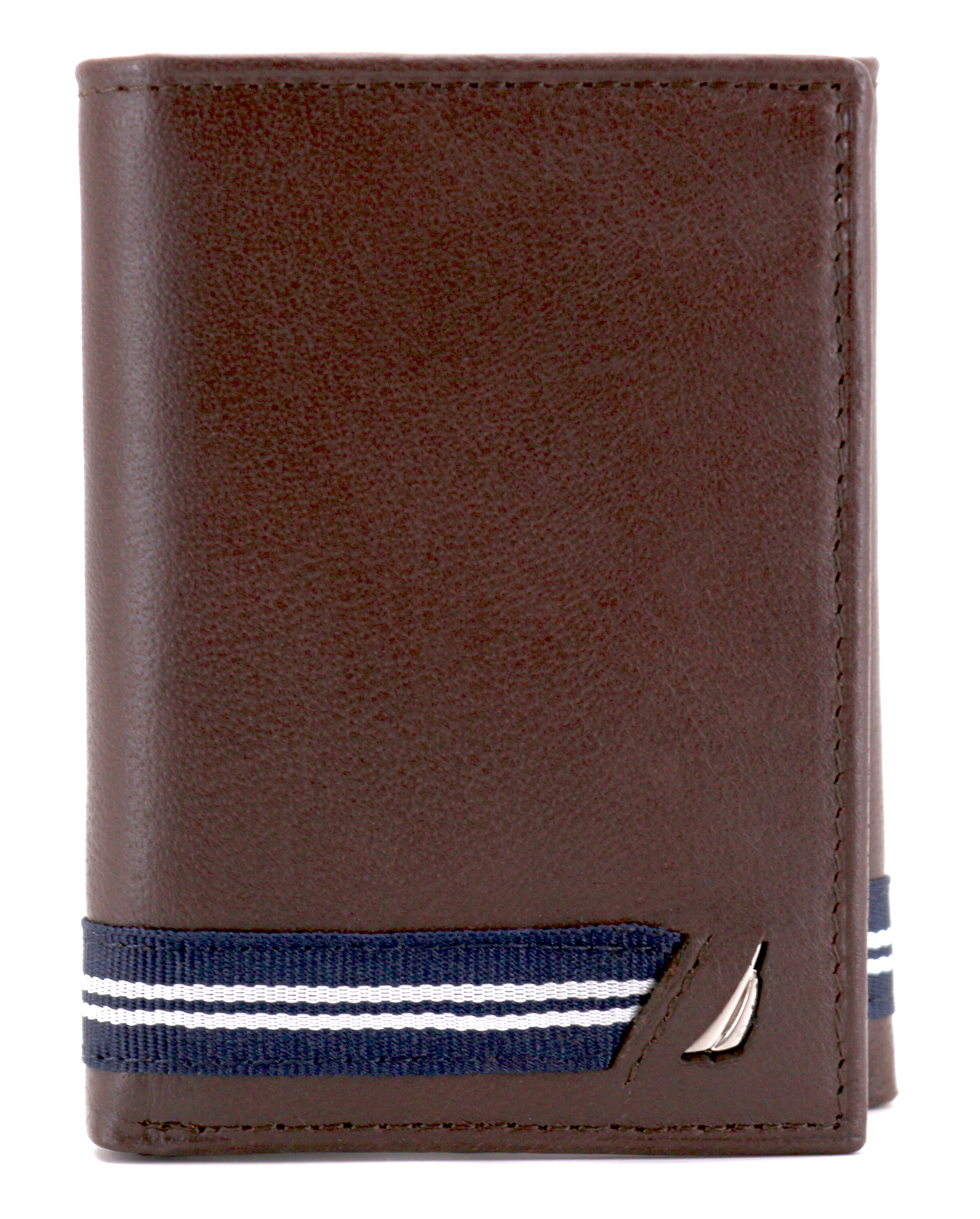 Nautica-Men-039-s-Genuine-Leather-Credit-Card-Id-Holder-Trifold-Wallet thumbnail 14